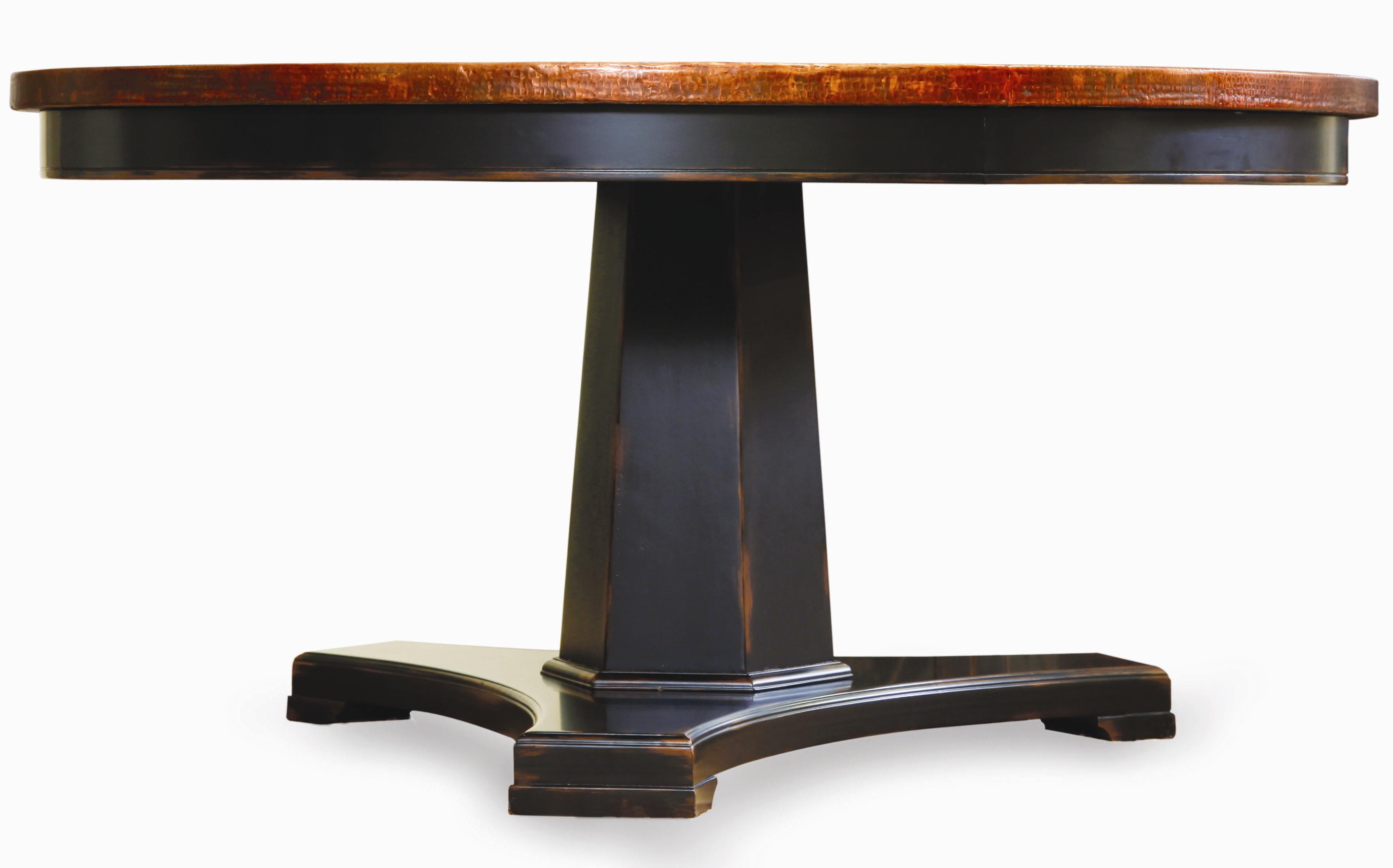 round pedestal kitchen table Hooker Furniture Sanctuary 60 Round Pedestal Dining Table Item Number