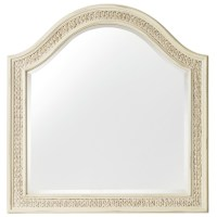 Hooker Furniture Sandcastle Arched Mirror with Woven Sea ...