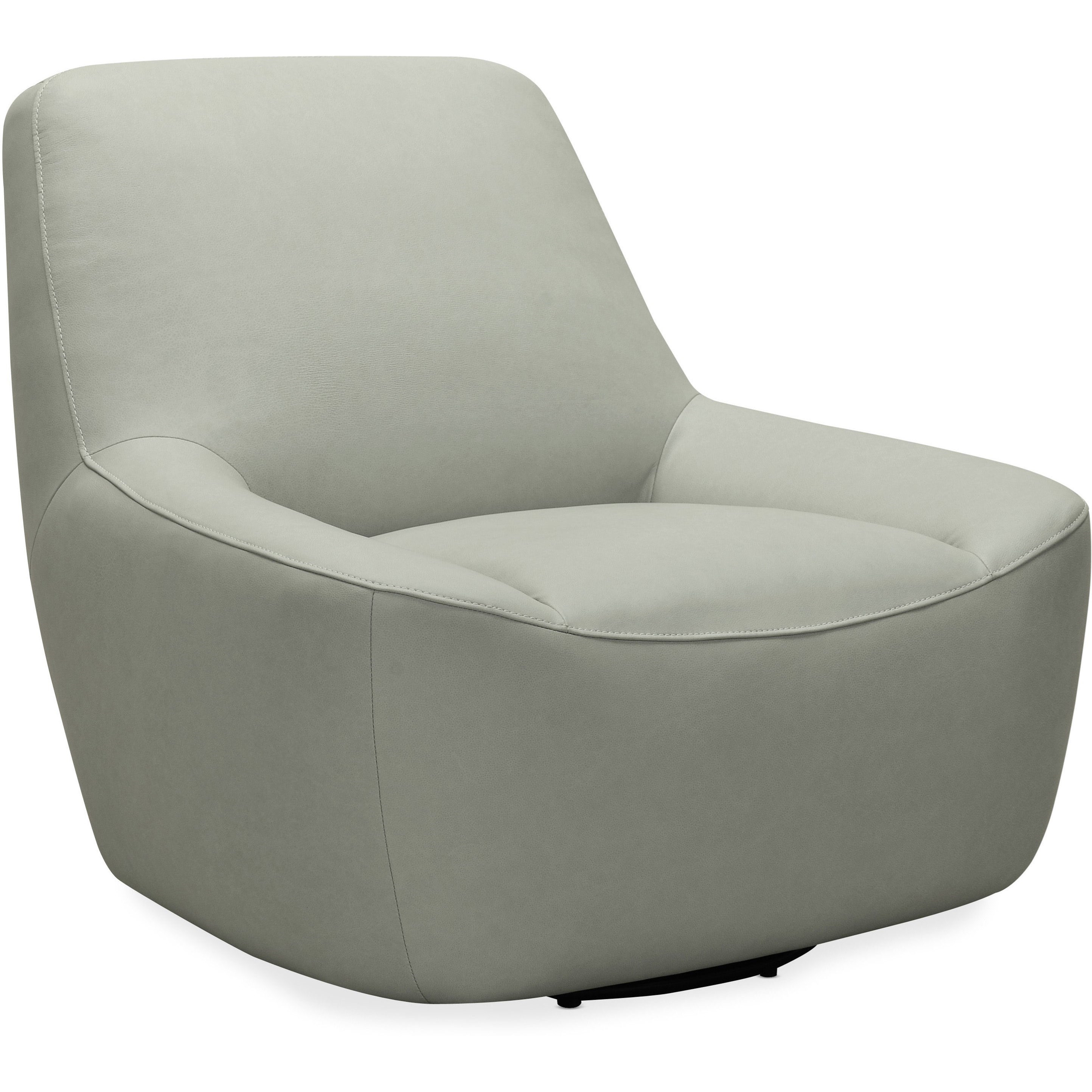 Hooker Furniture Club Chairs Contemporary Maneuver Leather Swivel Chair Wayside Furniture Upholstered Chairs