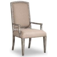 Hooker Furniture True Vintage Upholstered Arm Chair ...