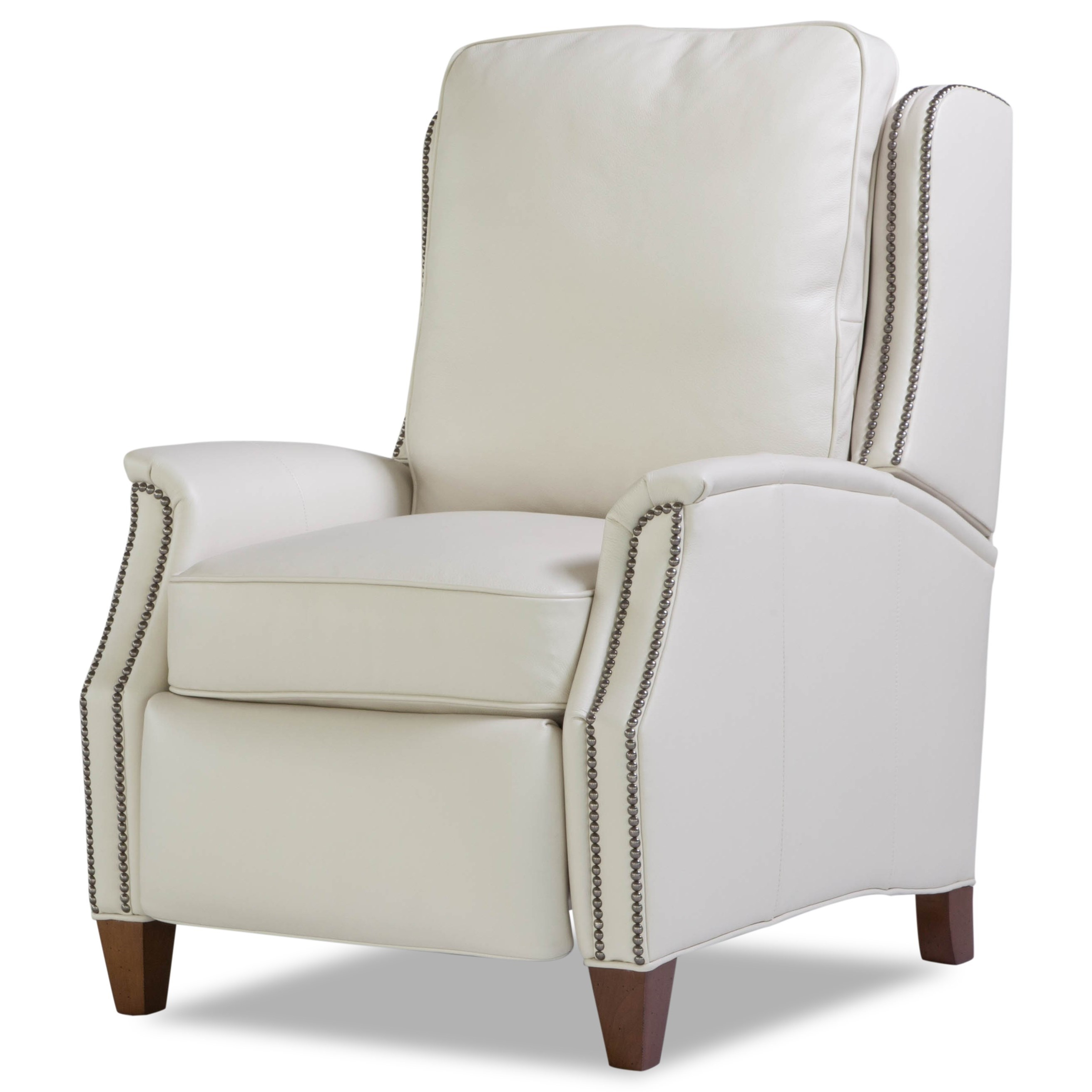 Hunington Furniture Huntington House 8119 Transitional Power Recliner With Nailhead