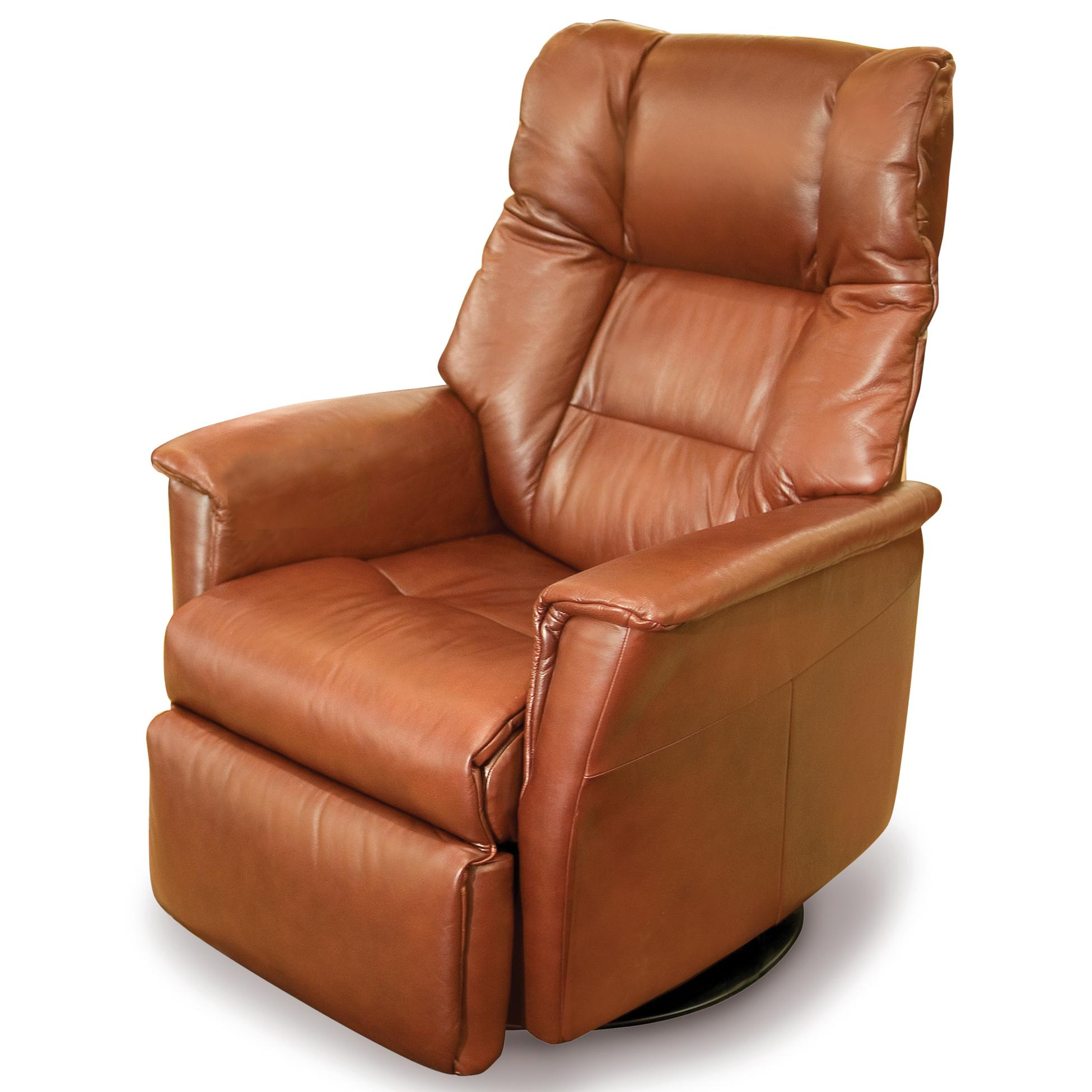 Vendor 508 Recliners Rm295 Modern Verona Recliner Relaxer With Swivel Base Becker Furniture Three Way Recliners