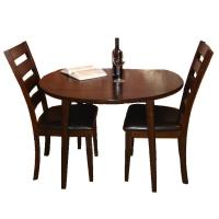 Intercon Kona 3 Piece Drop Leaf Dining Table and Ladder ...