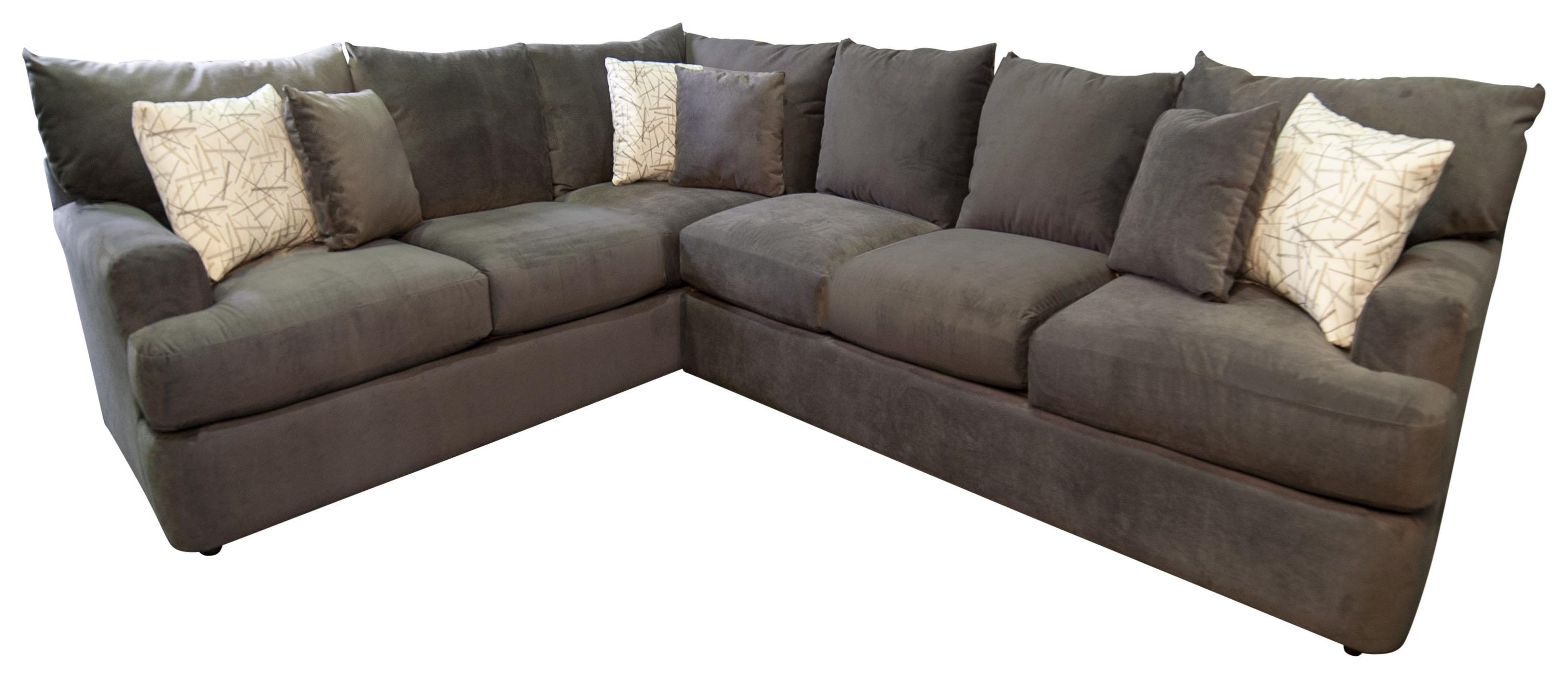 Klaussner Gwendolyn Sectional Sofa Morris Home Sectional Sofas