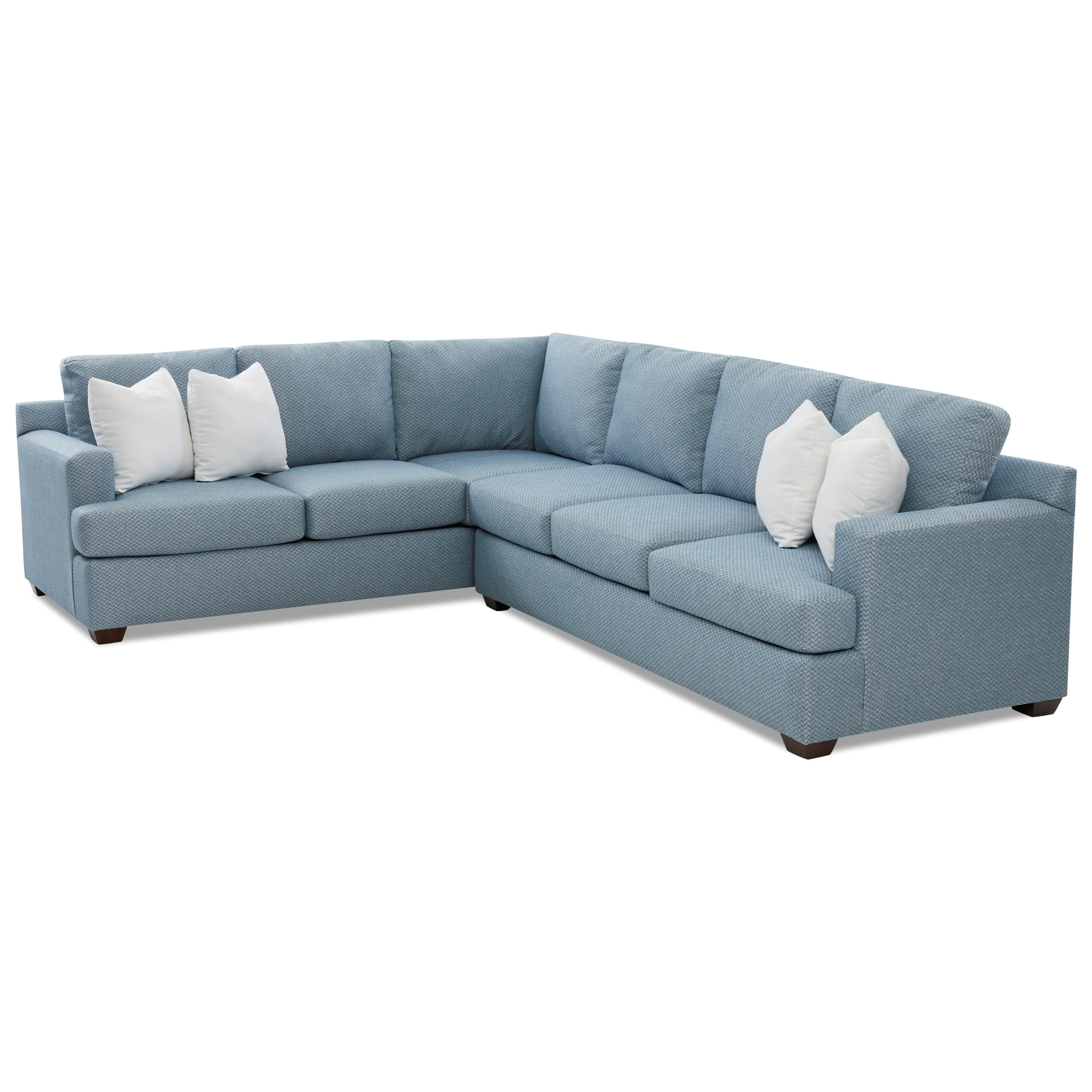 Klaussner Juniper 5 Seat Sectional Sofa With Laf Corner Sofa Value City Furniture Sectional Sofas