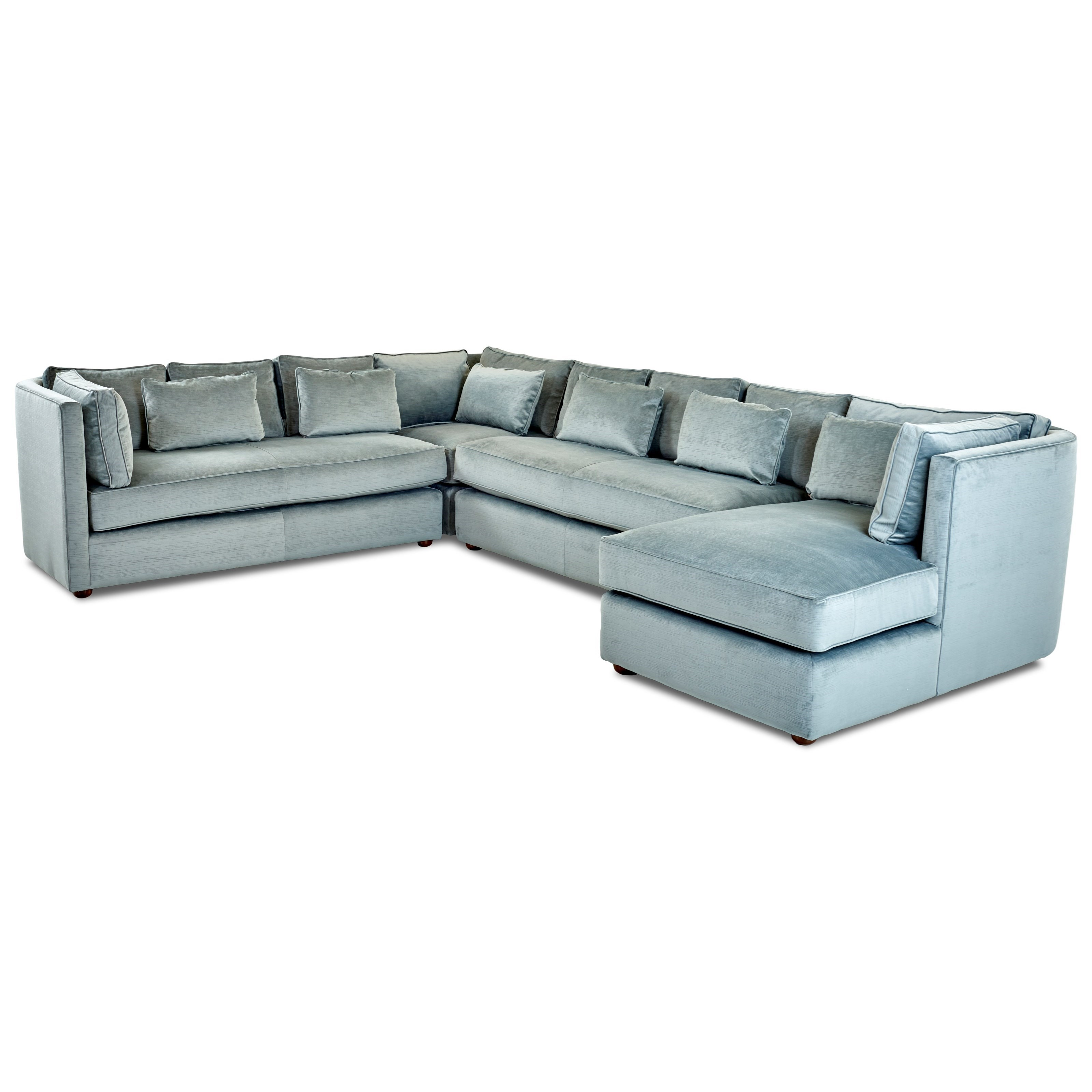 Lounge Furniture Outlet Cordelle Leather Lounge Leather Chaise