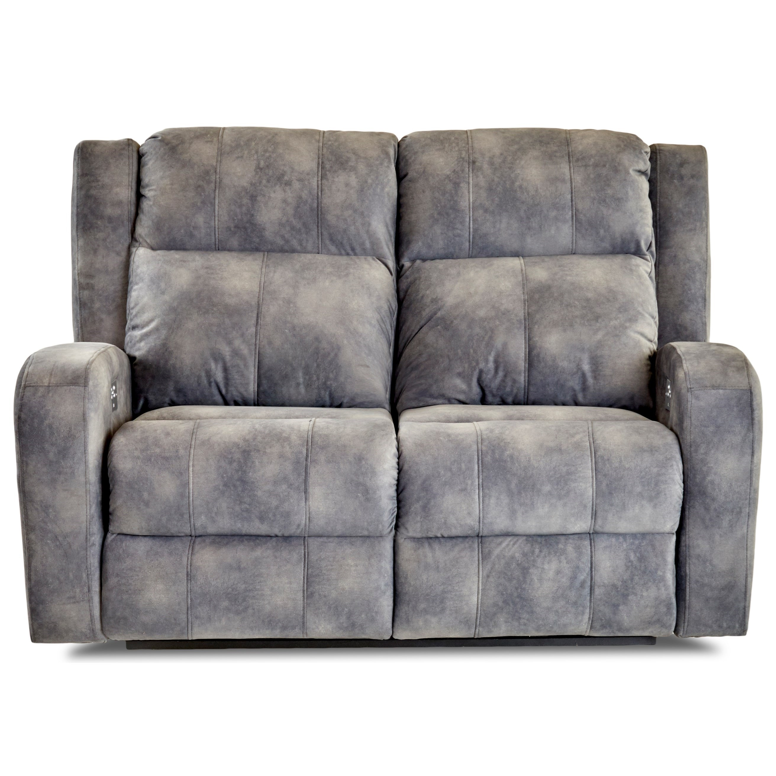 Sofa Relax Con Usb Klaussner Robinson Casual Power Reclining Loveseat With Power