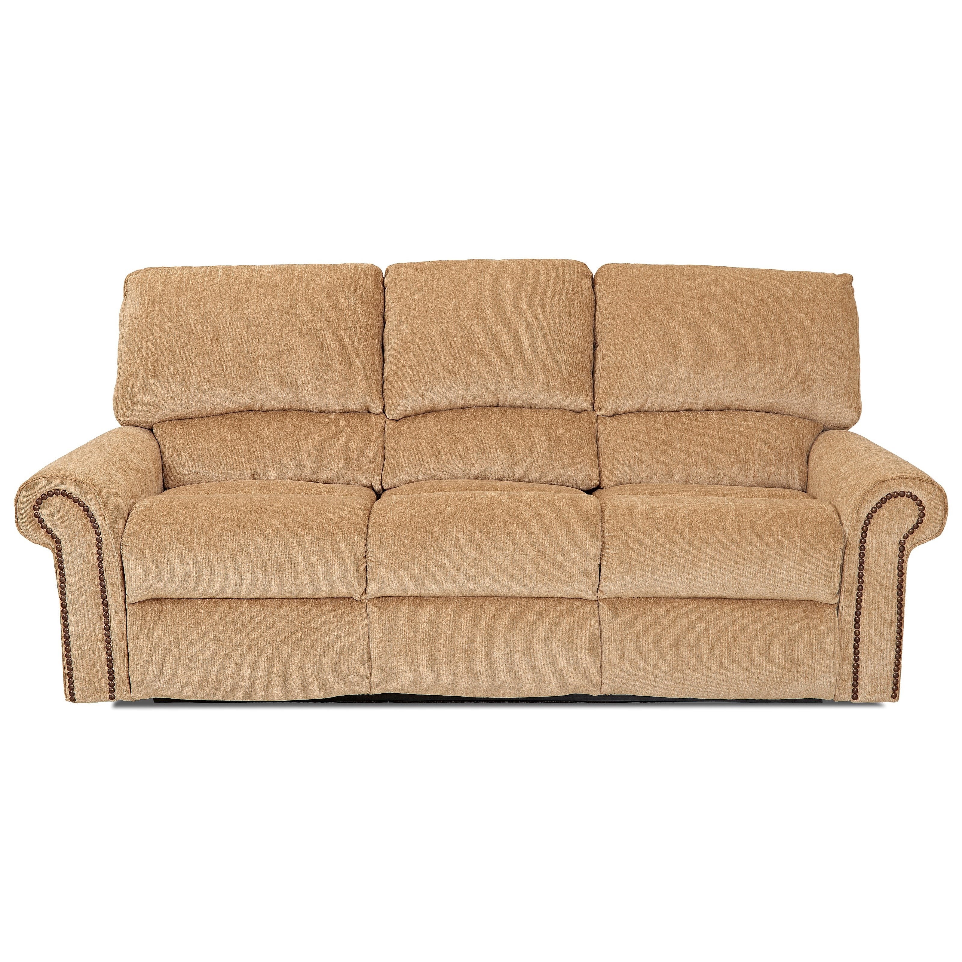 Big Sofa Usa Klaussner Savannah 62413 Rs Reclining Sofa With Rolled Arms