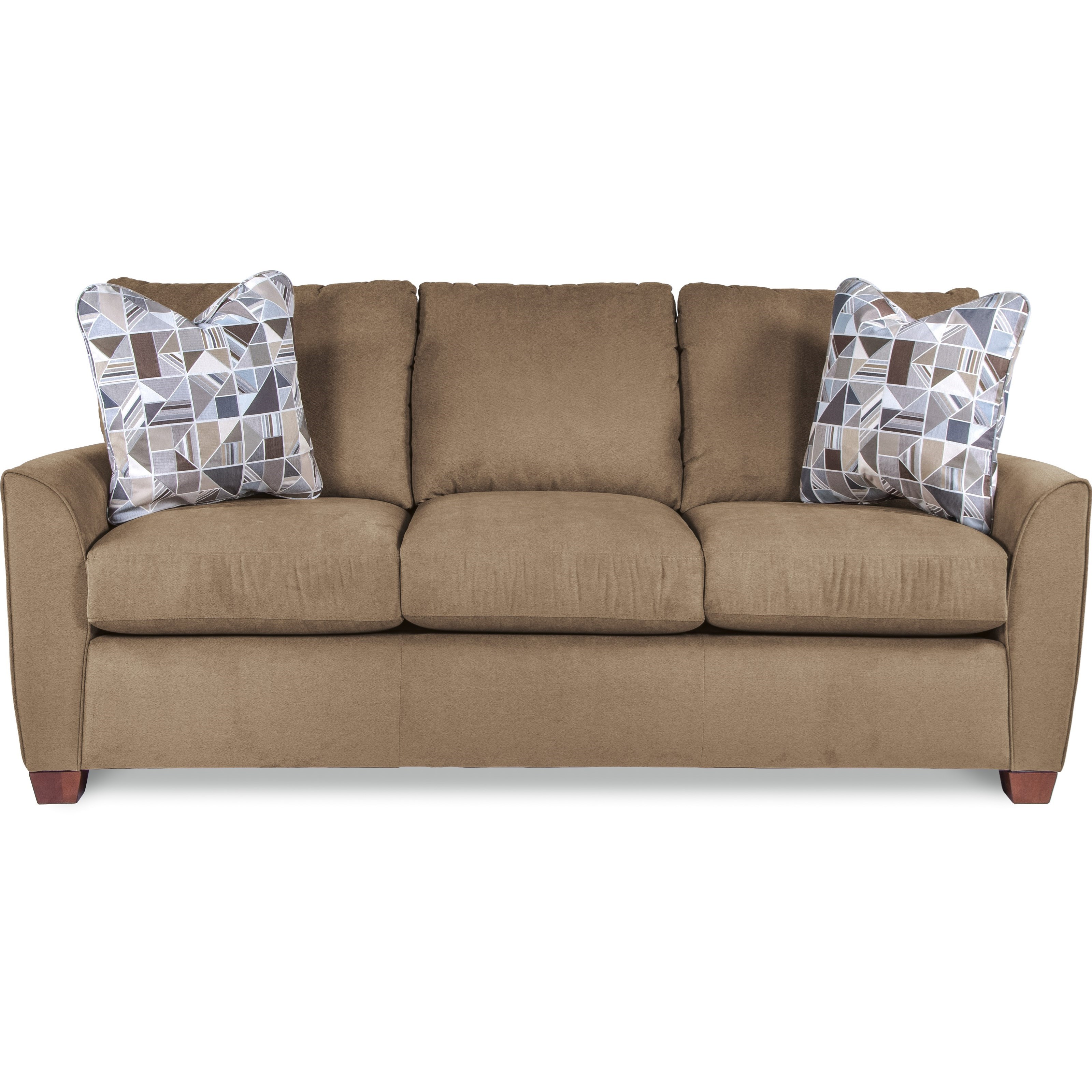 Big Sofa Back Cushions La Z Boy Amy Casual Sofa With Premier Comfortcore Cushions