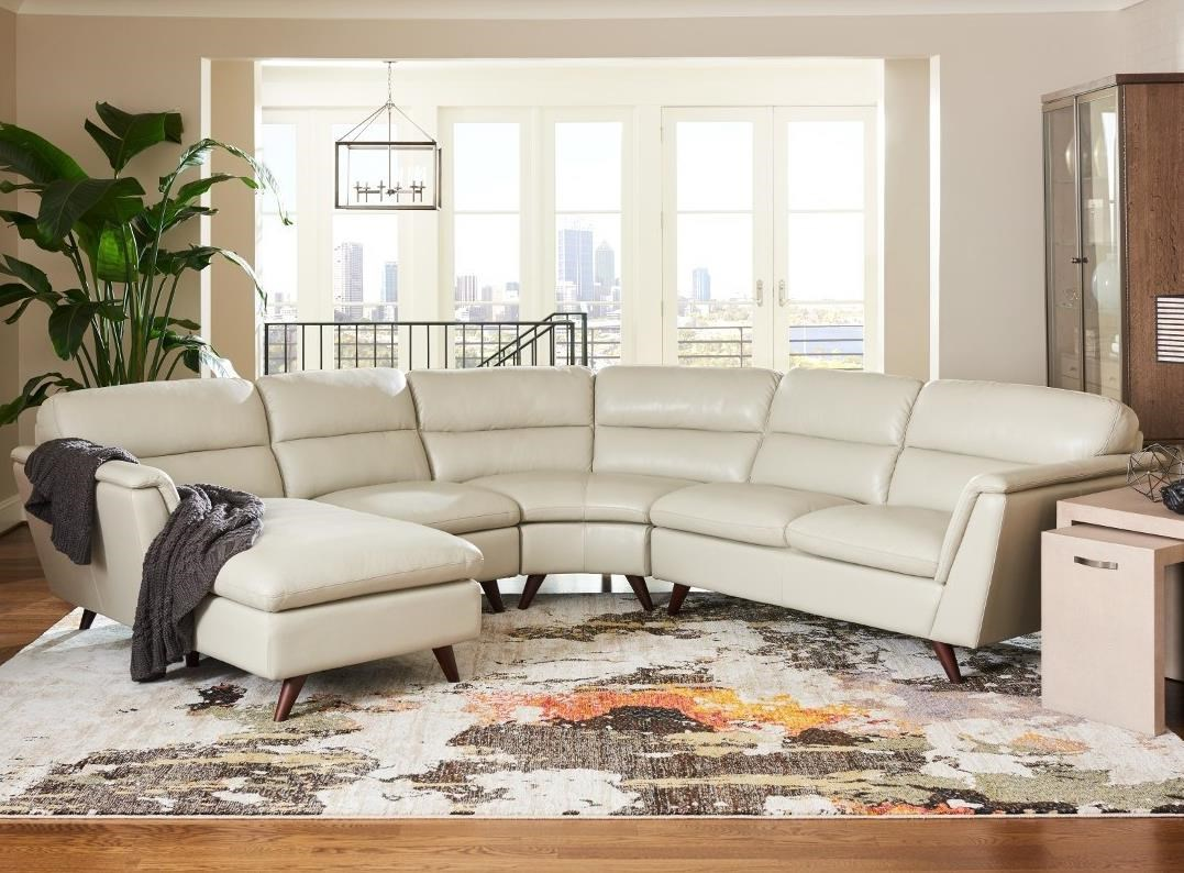 Chaise Z La Z Boy Arrow 4 Pc Sectional Sofa With Right Arm Sitting Chaise
