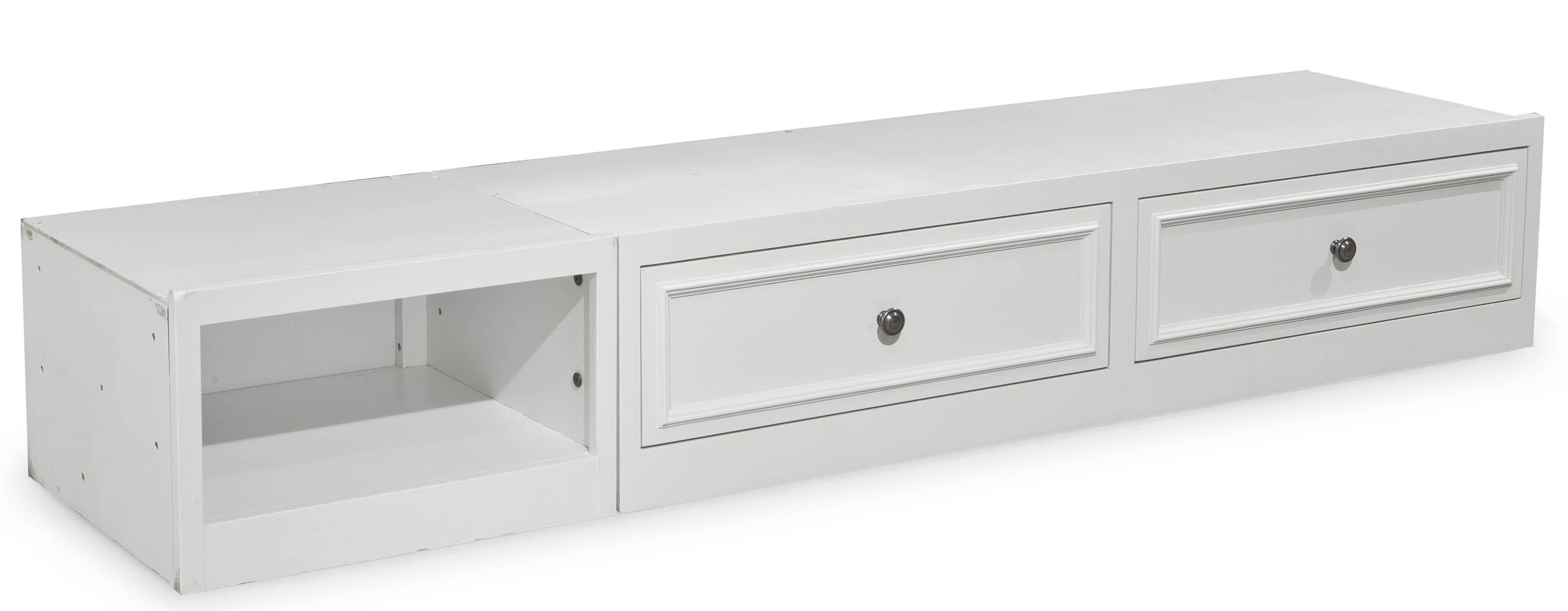 Storage Beds Australia Madison Underbed Storage Unit With 2 Drawers And 1 Open Compartment By Legacy Classic Kids At Wayside Furniture