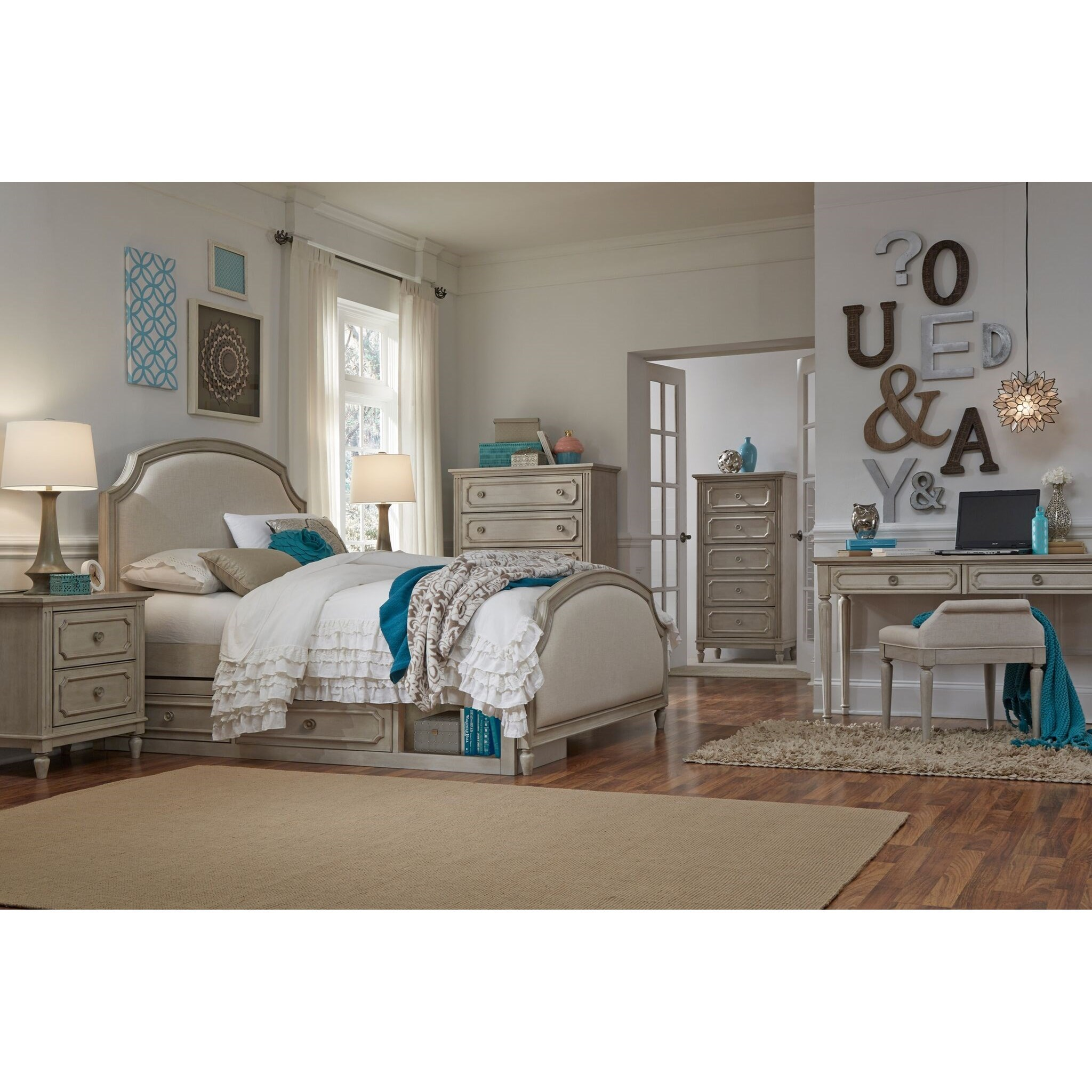 Kids Queen Bed Emma Queen Bedroom Group By Legacy Classic Kids At Olinde S Furniture