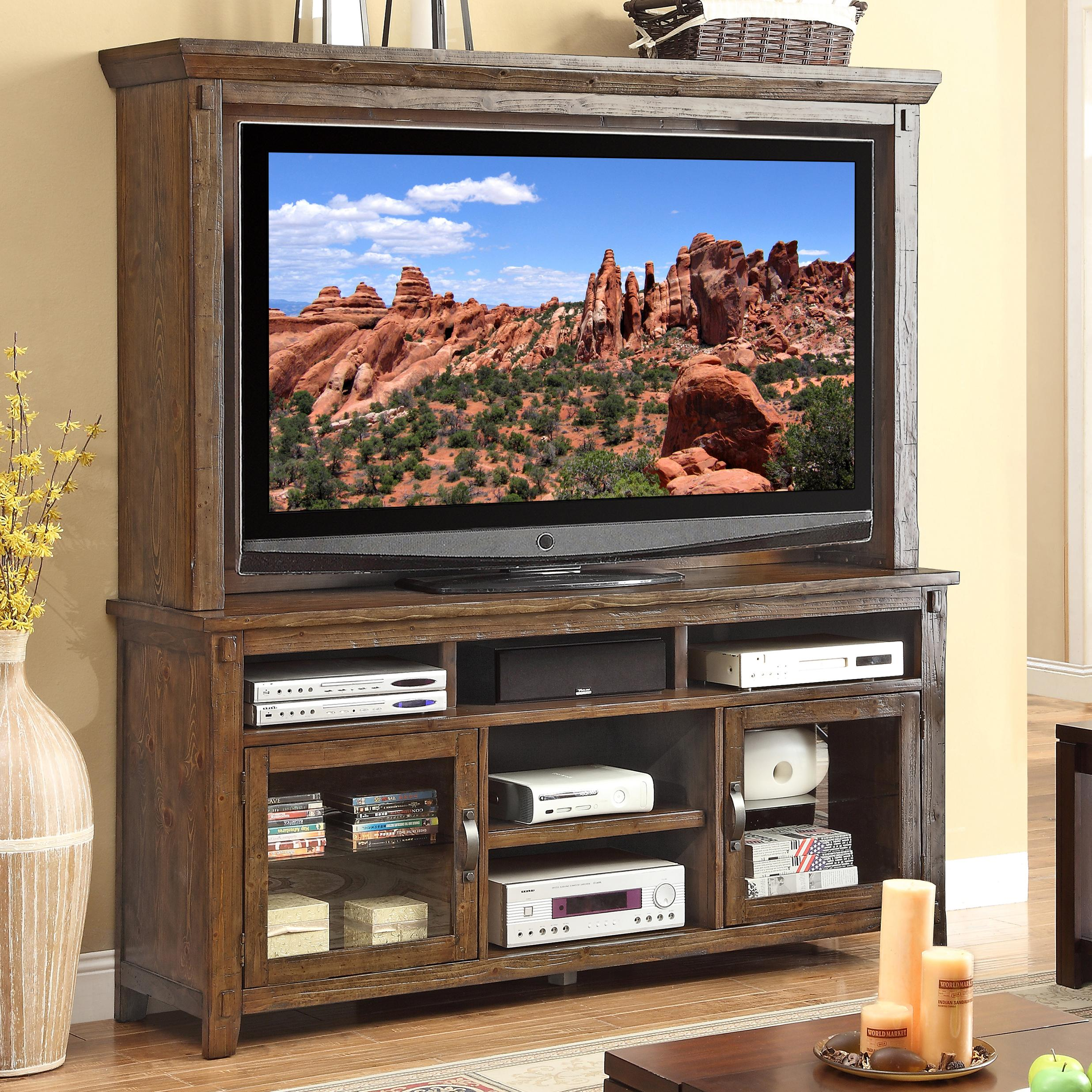 Stressless View Legends Furniture Restoration Rustic Casual Tv Console And