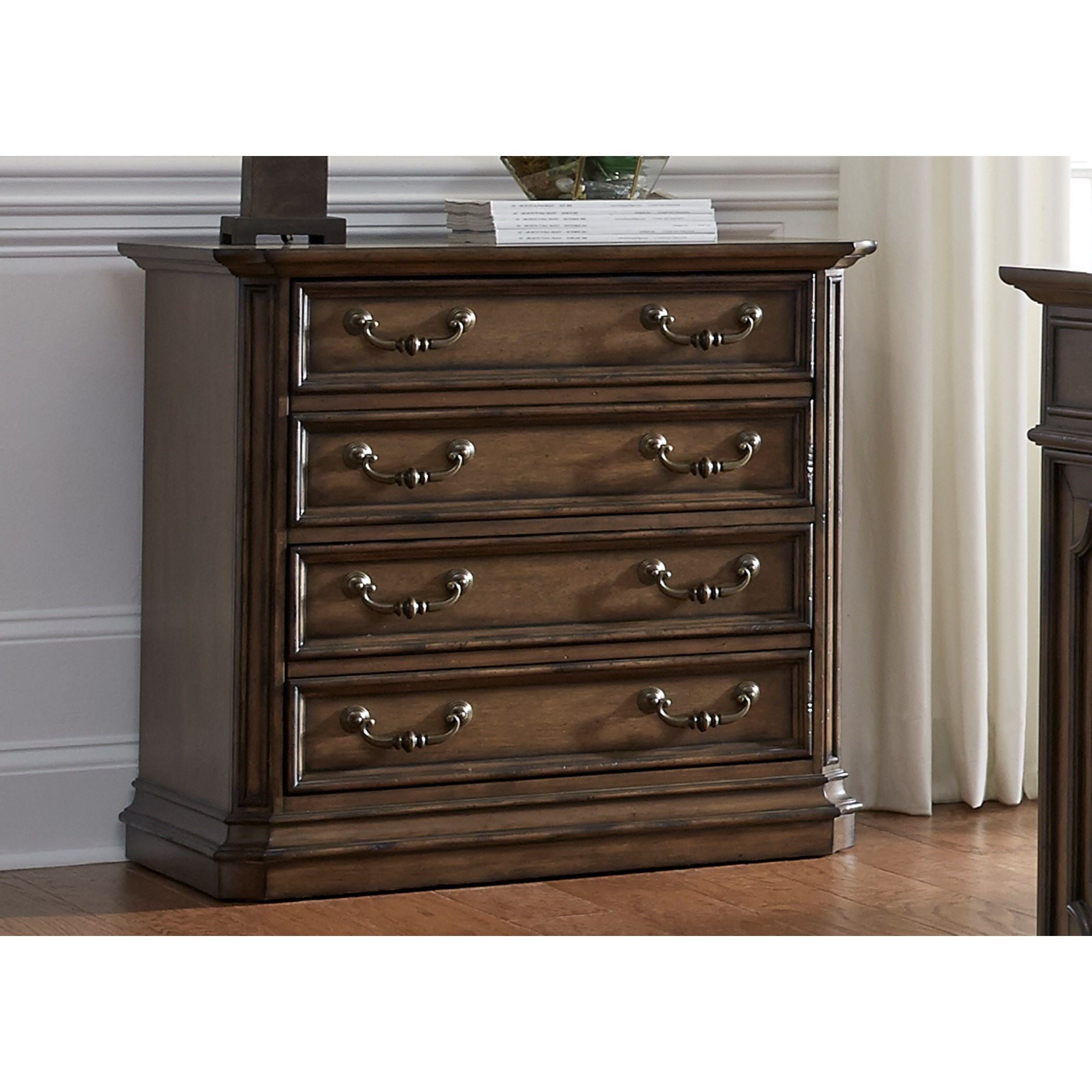 Liberty Furniture Amelia Home Office 487 Ho146 Traditional Lateral File With Fully Stained Interior Drawers Furniture And Appliancemart Lateral Files