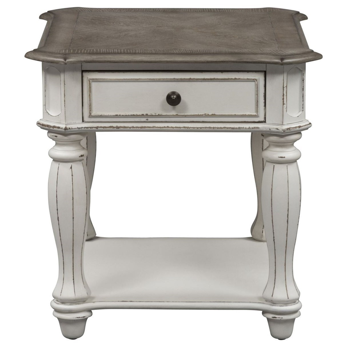 Liberty Furniture Magnolia Manor 210 11567 2 End Table With Dovetail Drawer Furniture Fair North Carolina End Tables