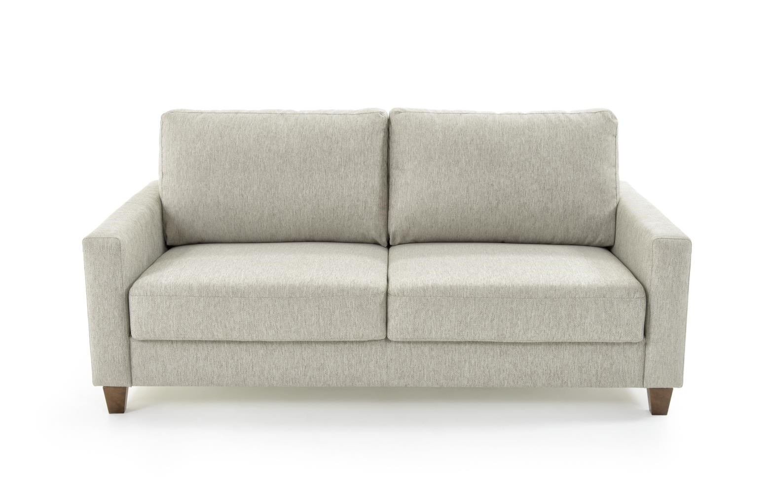 Sofa Queen Nico Contemporary Queen Size Sleeper Sofa By Luonto At Baer S Furniture