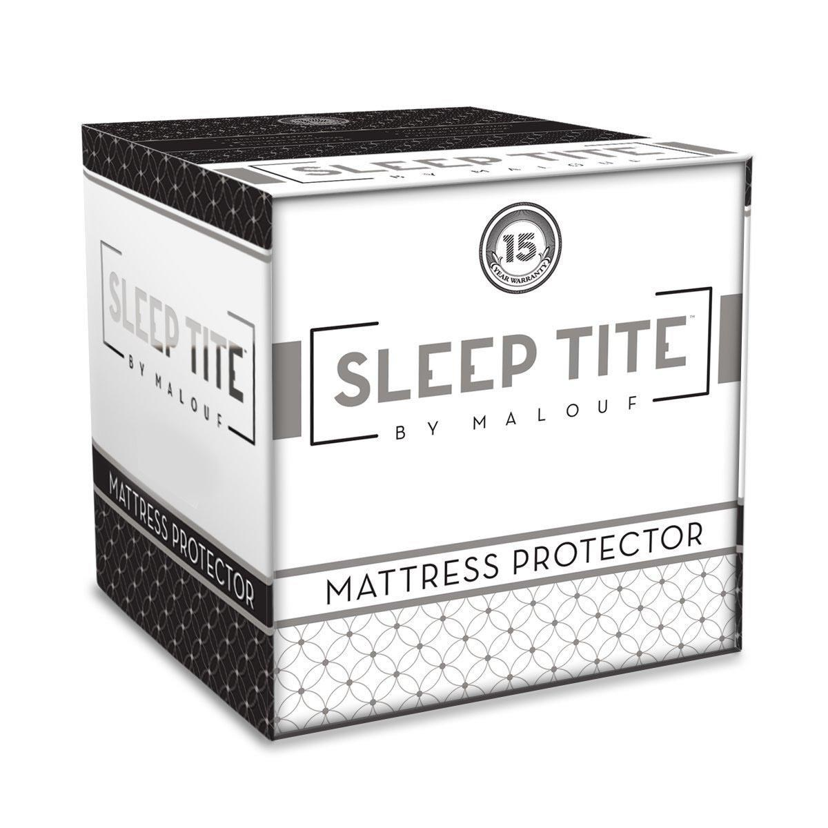 Malouf Sleep Tite Mattress Protector Mattress Protectors Twin Xl Sleeptite Mattress Protector By Malouf At Boulevard Home Furnishings