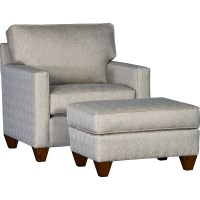 Mayo 3830 Chair and Ottoman | Johnny Janosik | Chair & Ottoman
