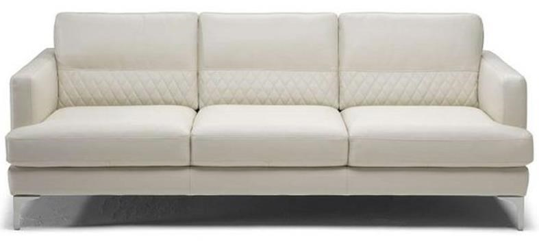 Natuzzi Editions Donatello Contemporary Sofa With Textured