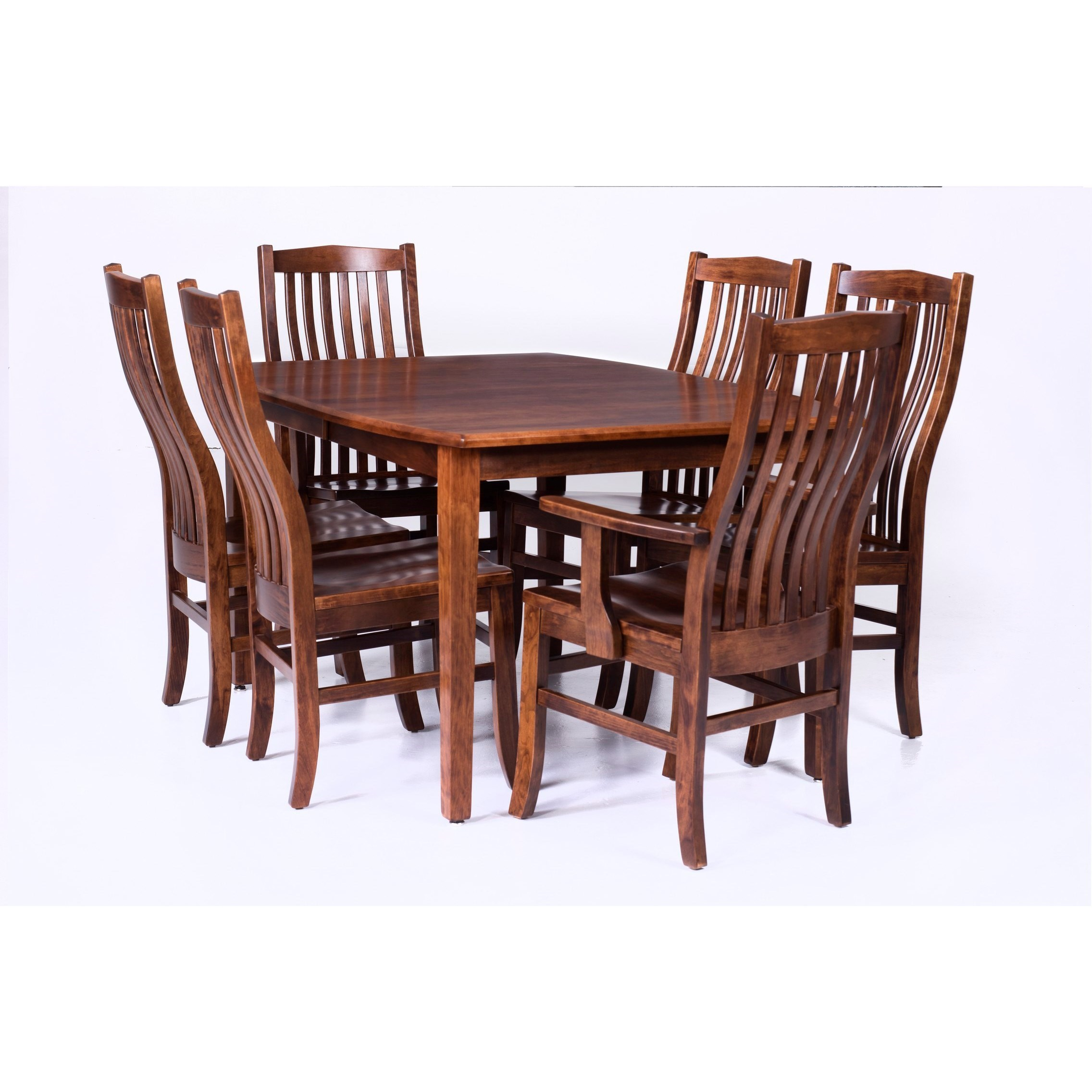 Palettes Prestige Customizable 7 Piece Table And Chair Set Virginia Furniture Market Dining 7 Or More Piece Sets