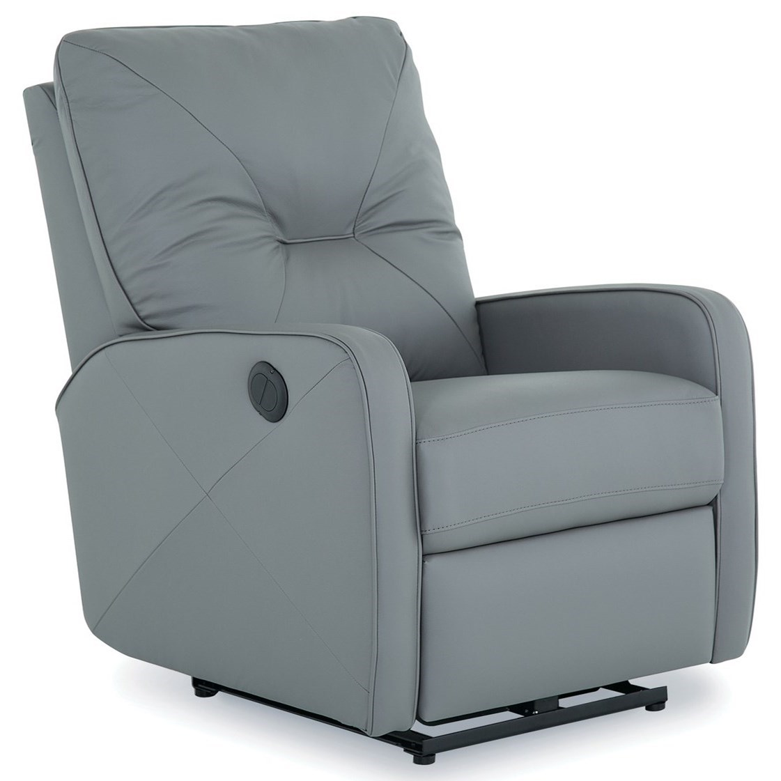 Palliser Theo Contemporary Power Wallhugger With Center Tufted Back Stoney Creek Furniture Recliners