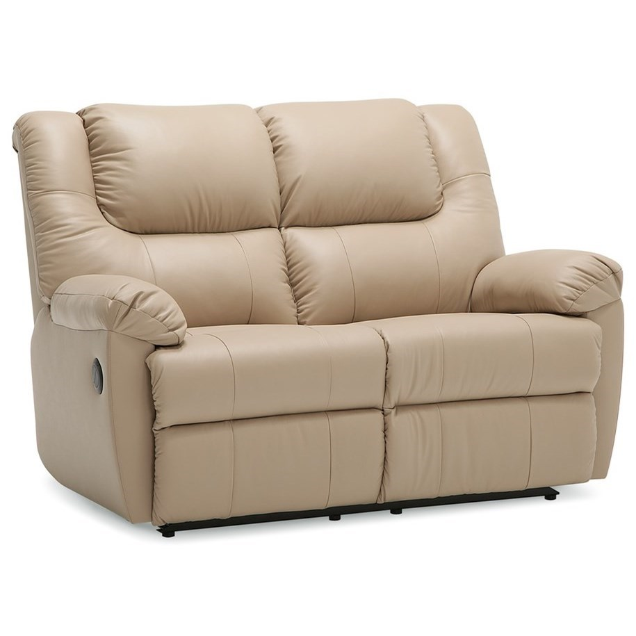 Palliser Tundra Loveseat Recliner With Pillow Arms Jordan S Home Furnishings Reclining Loveseats