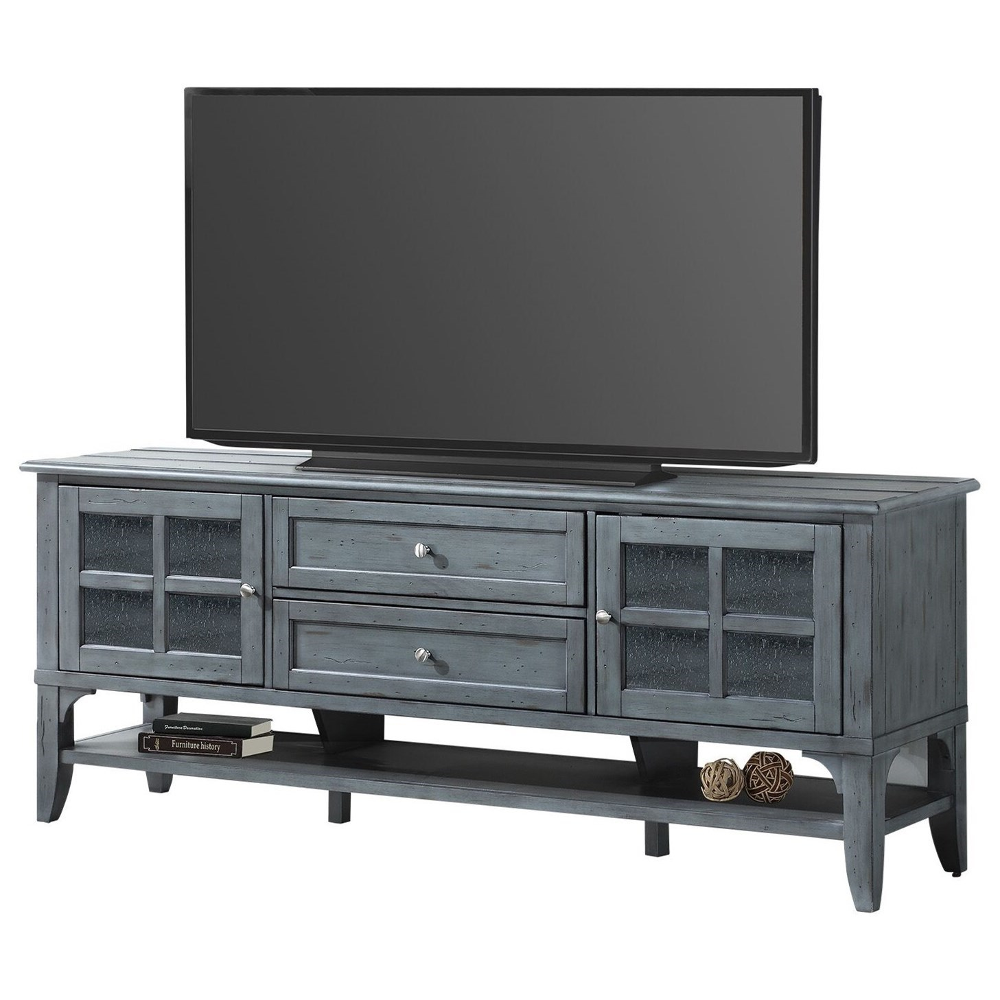 Parker House Lenox Transitional 76 In Tv Console Morris Home Tv Stands