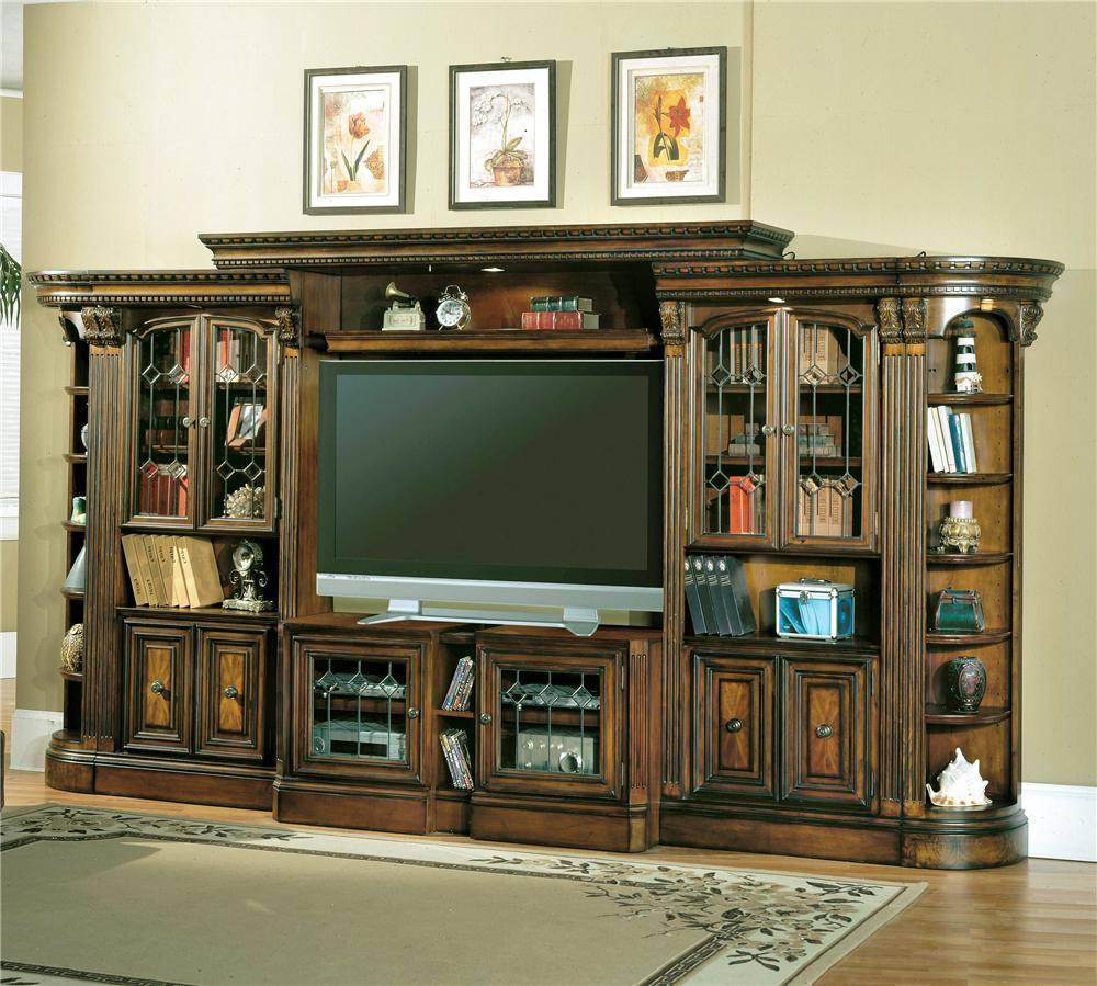 Large Wall Units For Living Room Parker House Huntington Entertainment Center With Glass Door
