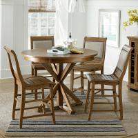 Progressive Furniture Willow Dining 5-Piece Round Counter ...