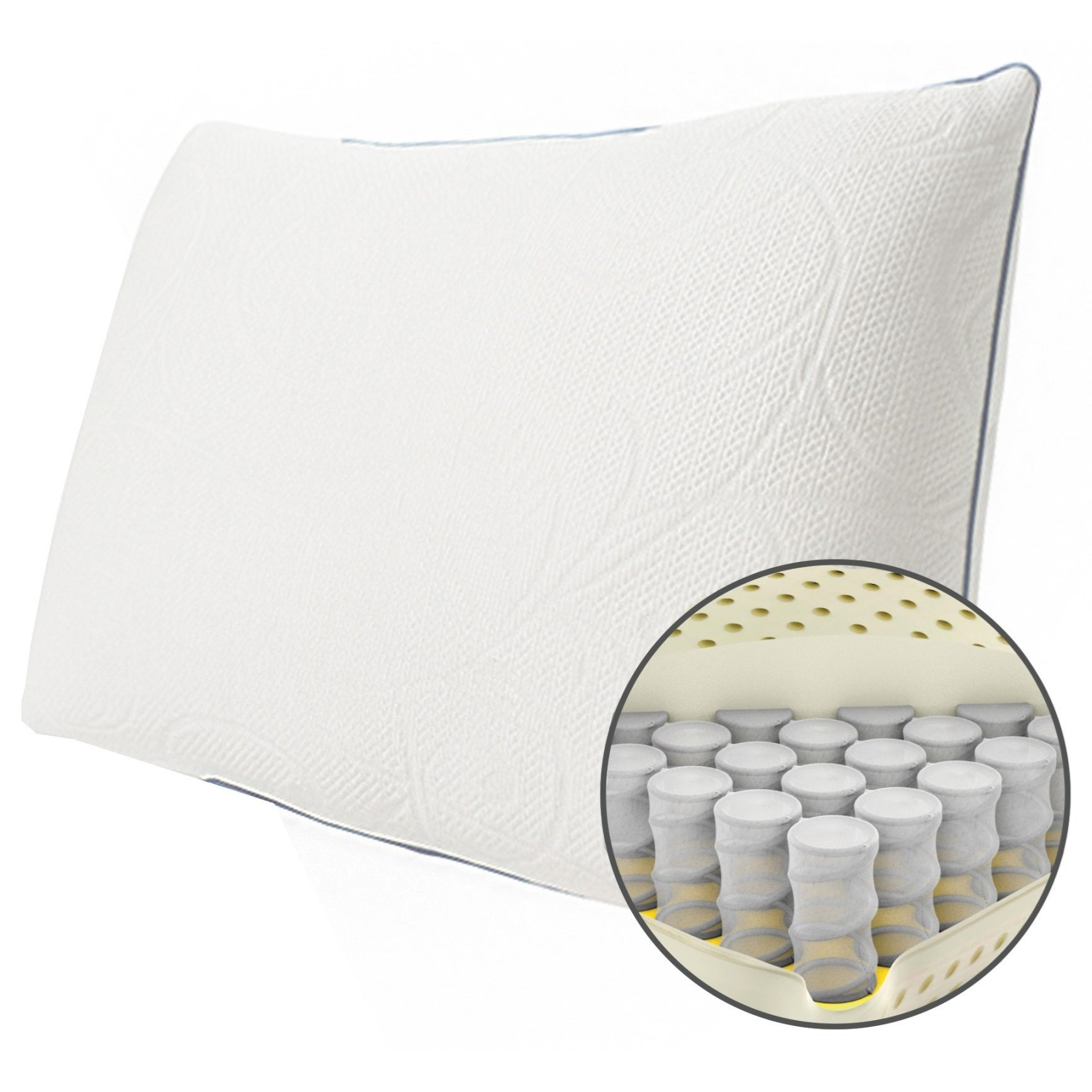 Firm Memory Foam Pillow Protect A Bed Memory Foam Hybrid Crystal Pillow Queen Firm Crystal