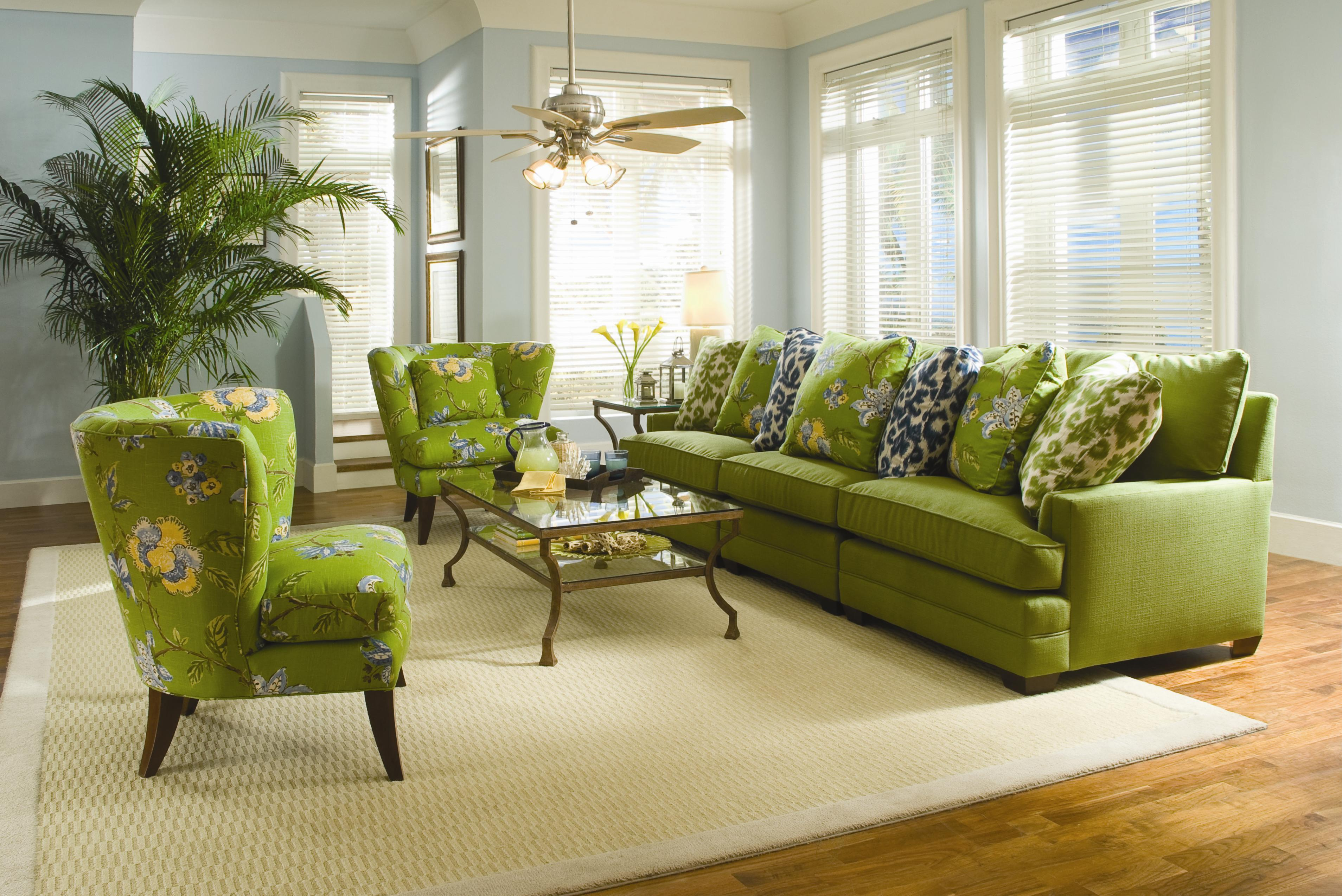 Sam Moore Margo Extra Wide Sectional Sofa Dunk Bright