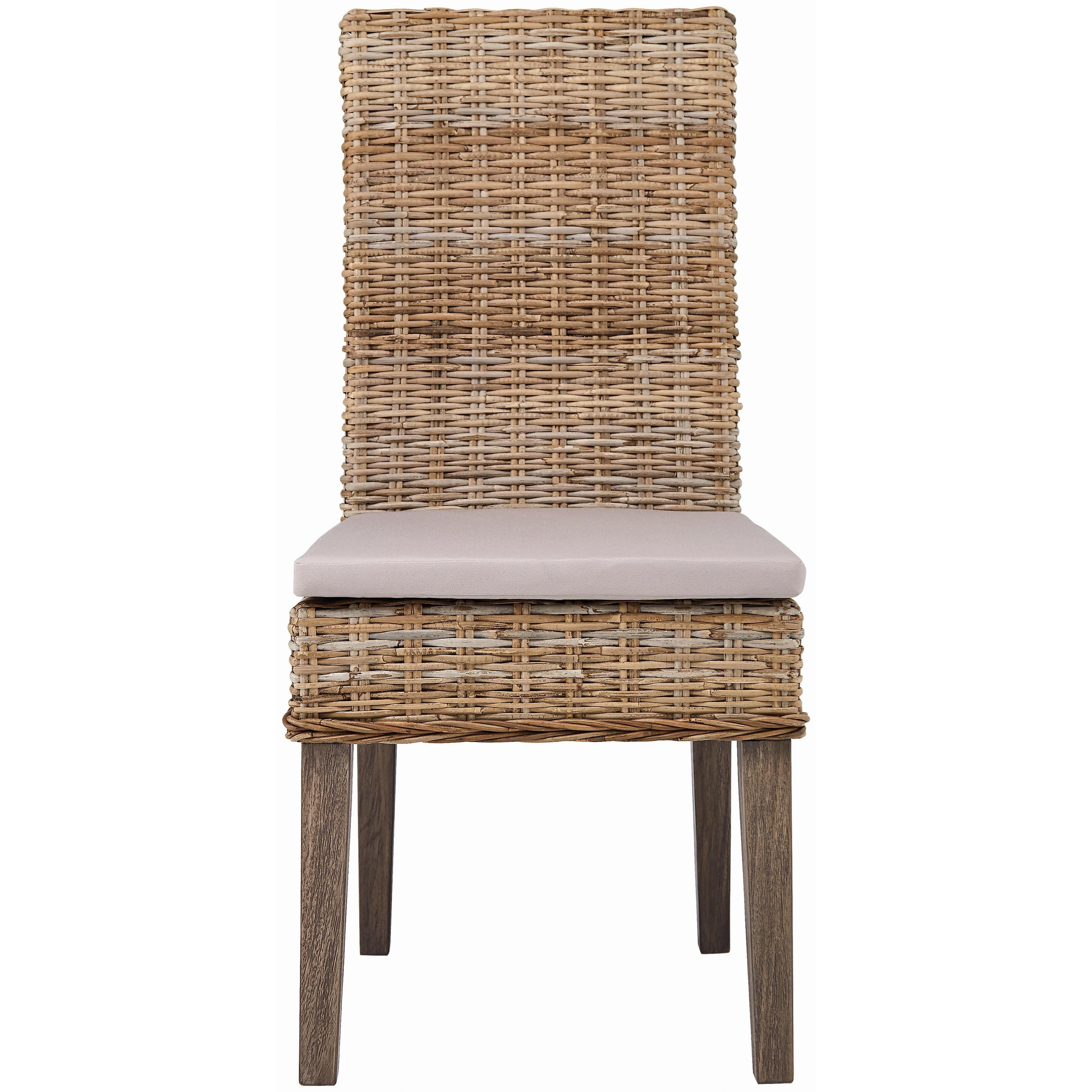 Rattan Chairs 103803 Rattan Dining Chair By Scott Living At Belfort Furniture