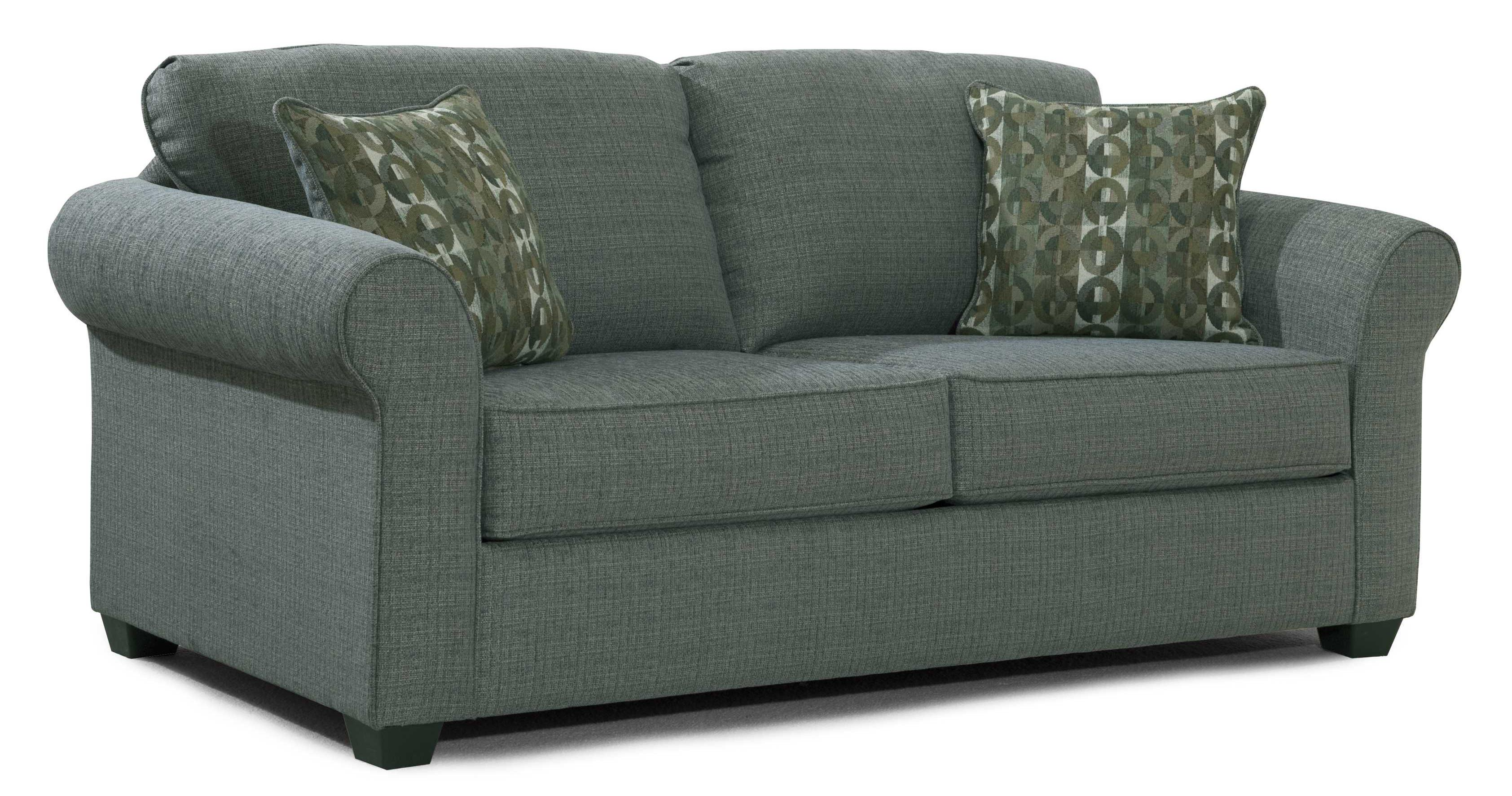 Serta Upholstery By Hughes Furniture 1750 Casual Full Sofa Sleeper With Sock Arms Rooms For Less Sleeper Sofas