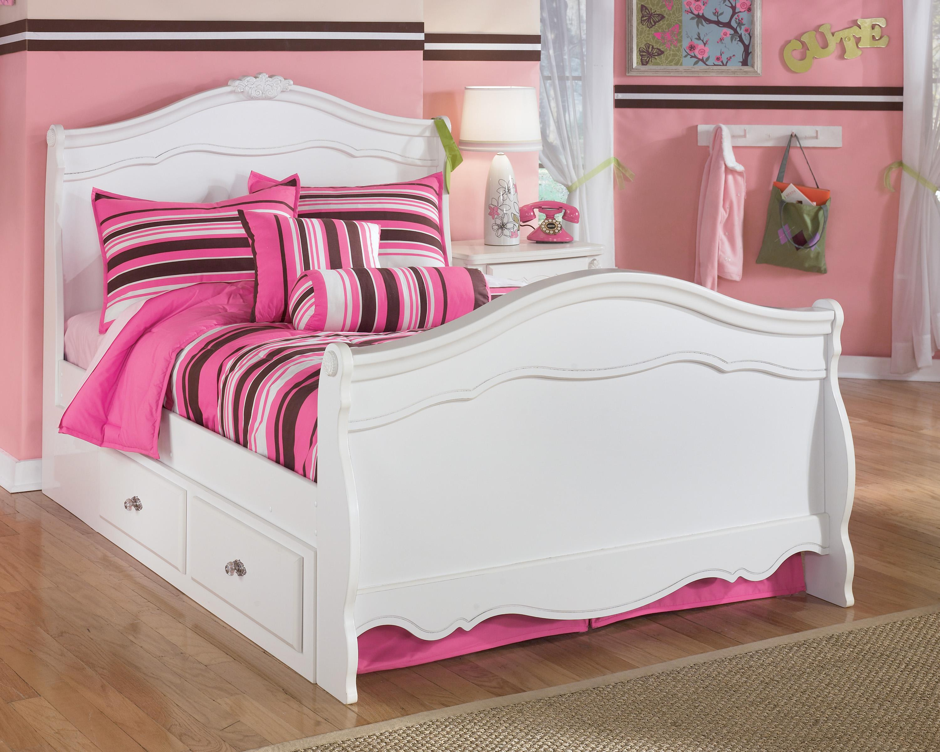 Under Bed Storage Frame Exquisite Full Sleigh Bed With Under Bed Storage By Signature Design By Ashley At Lindy S Furniture Company