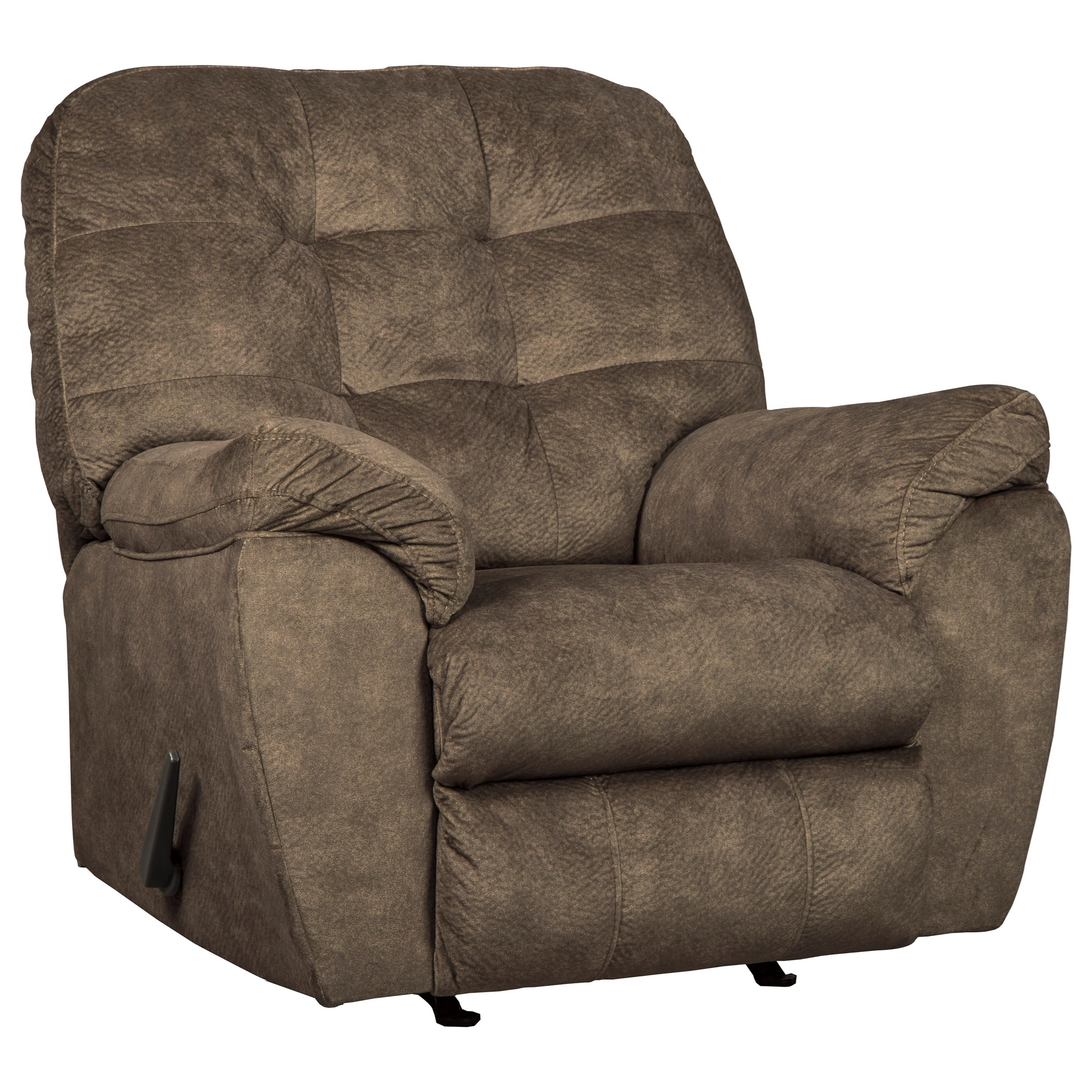 Recliner Pillow Accrington Casual Contemporary Rocker Recliner By Signature Design By Ashley At Beck S Furniture