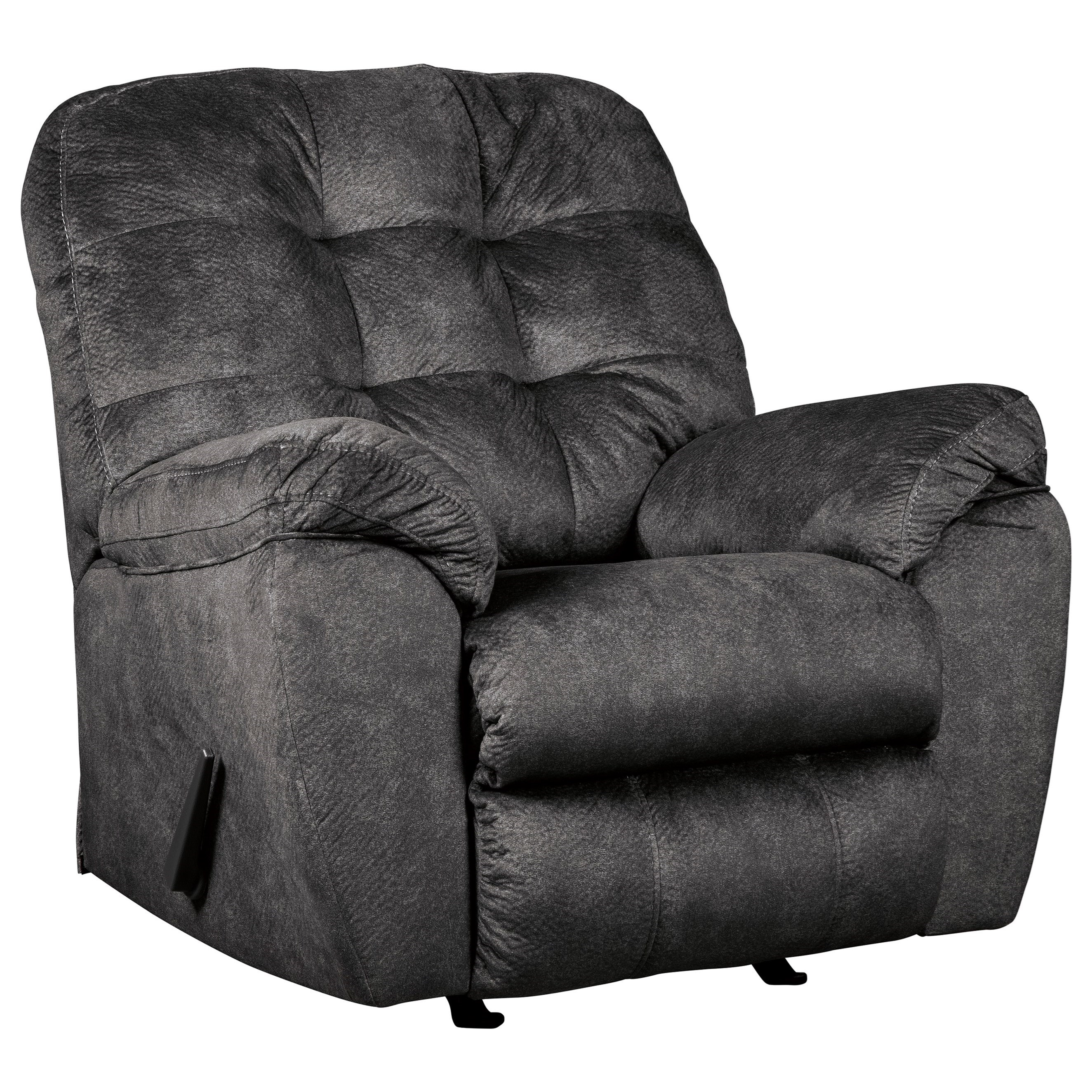 Recliner Pillow Accrington Casual Contemporary Rocker Recliner By Signature Design By Ashley At Northeast Factory Direct