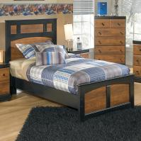 Signature Design by Ashley Aimwell Two-Tone Finish Twin ...