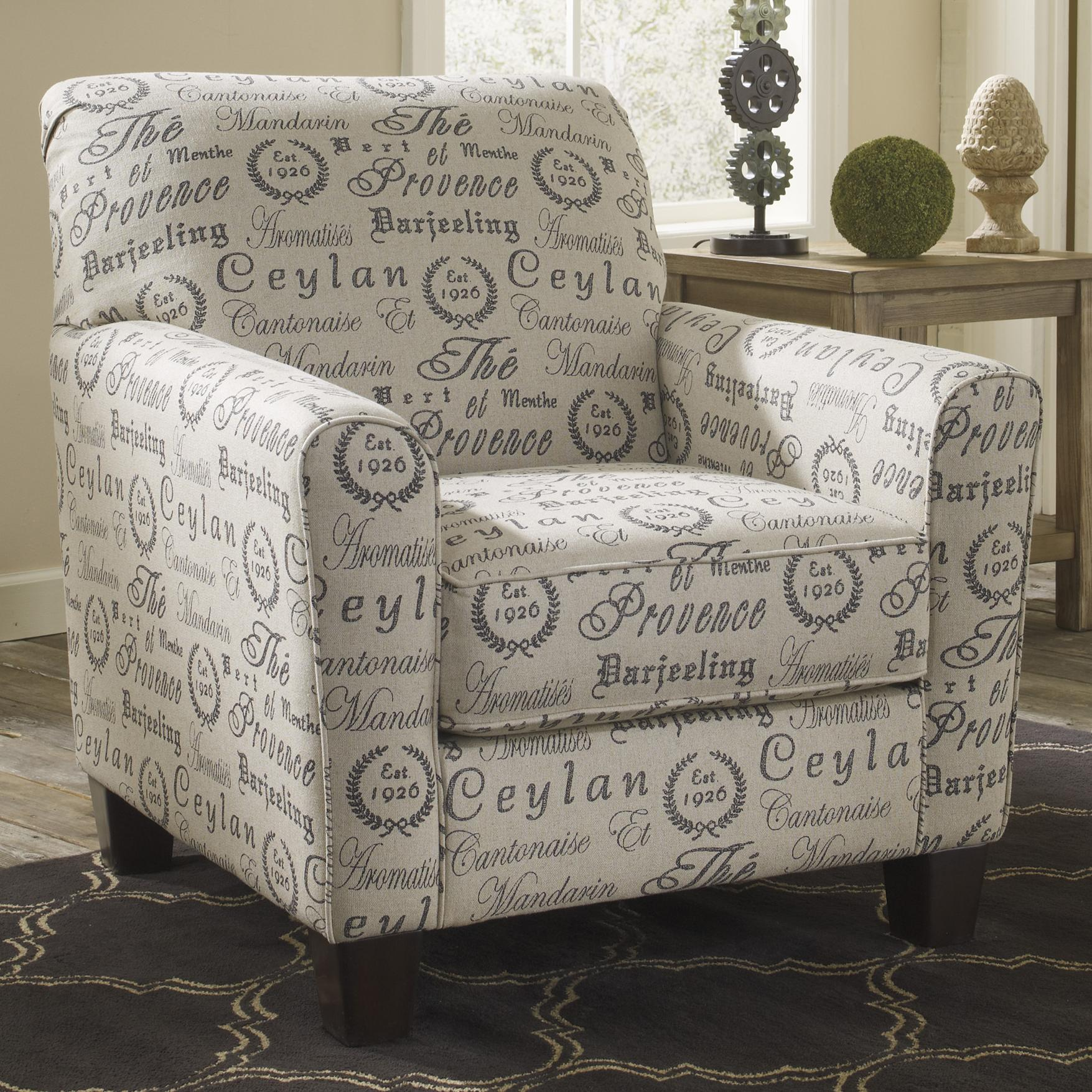 Signature Design By Ashley Alenya Quartz 1660021 Track Arm Accent Chair Pilgrim Furniture City Upholstered Chairs