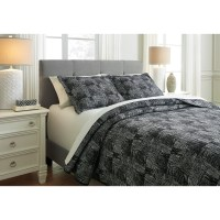 Signature Design by Ashley Bedding Sets Queen Jabesh Black ...