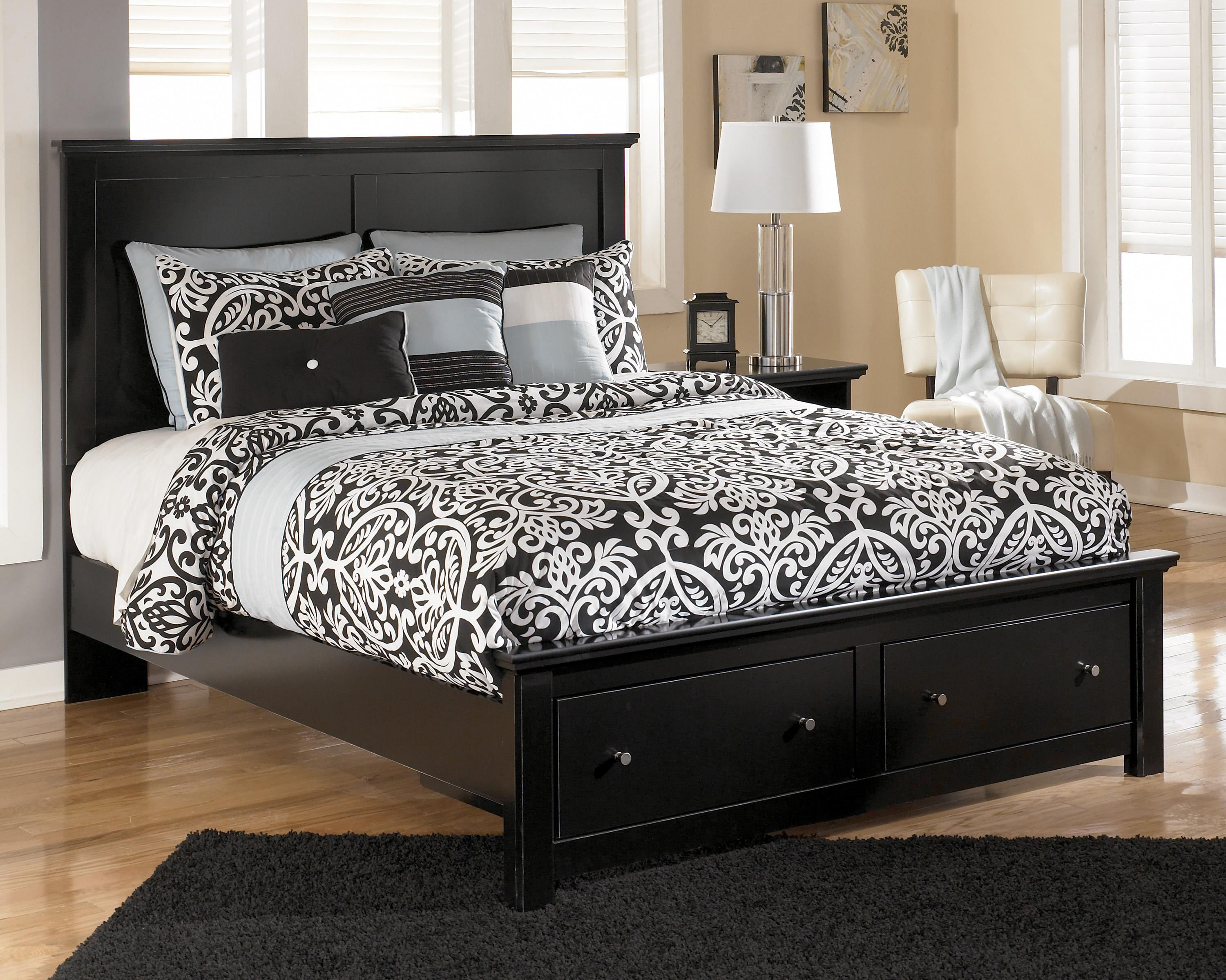 Queen Size Beds For Sale Signature Design By Ashley Maribel Queen Storage Bed With