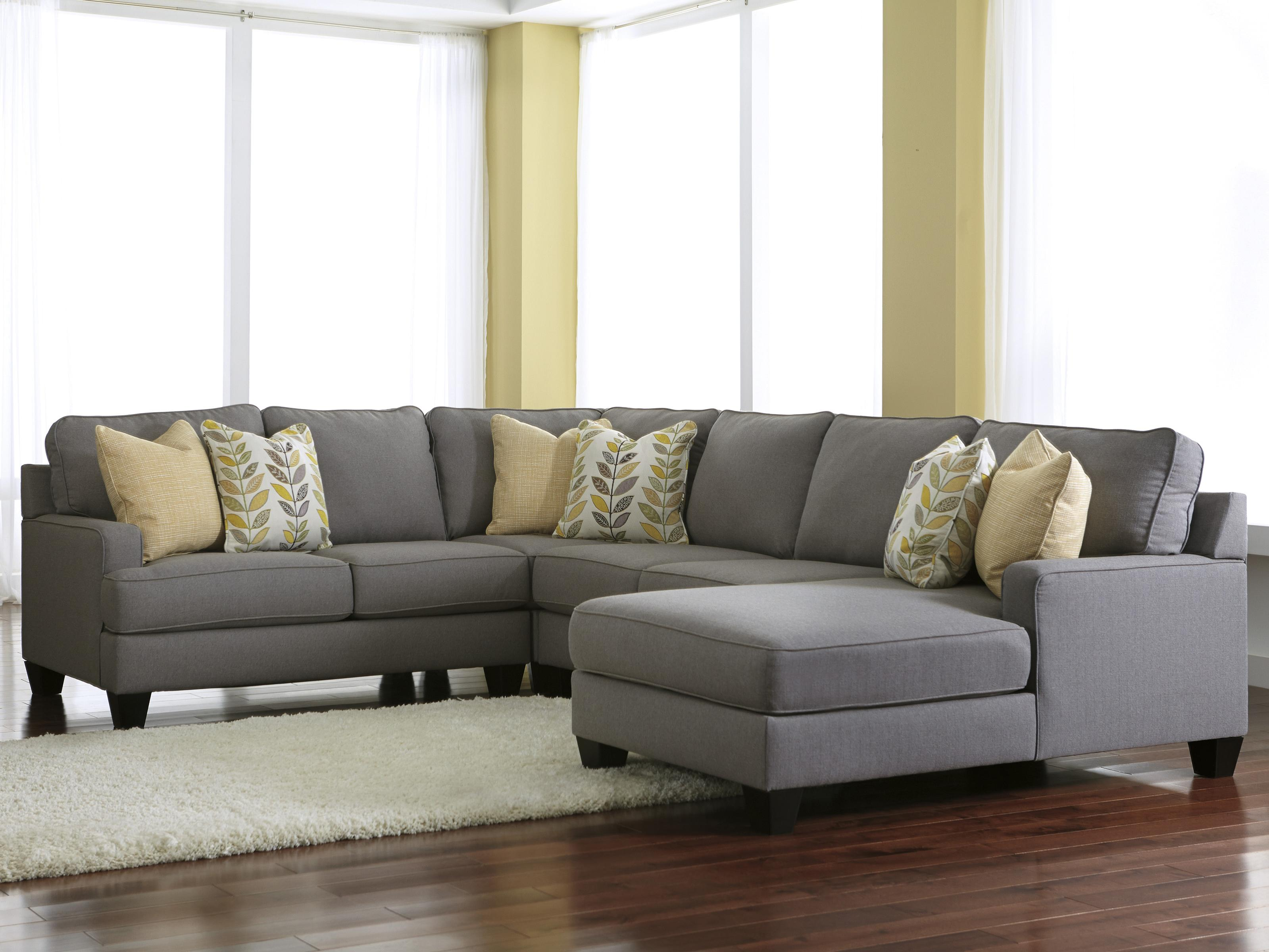 Sofascore Kayla Day Grey Sectional Sofa With Chaise 3 Seater Recliner Modern Sleeper
