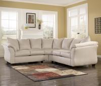 Signature Design by Ashley Darcy - Stone Sectional Sofa ...