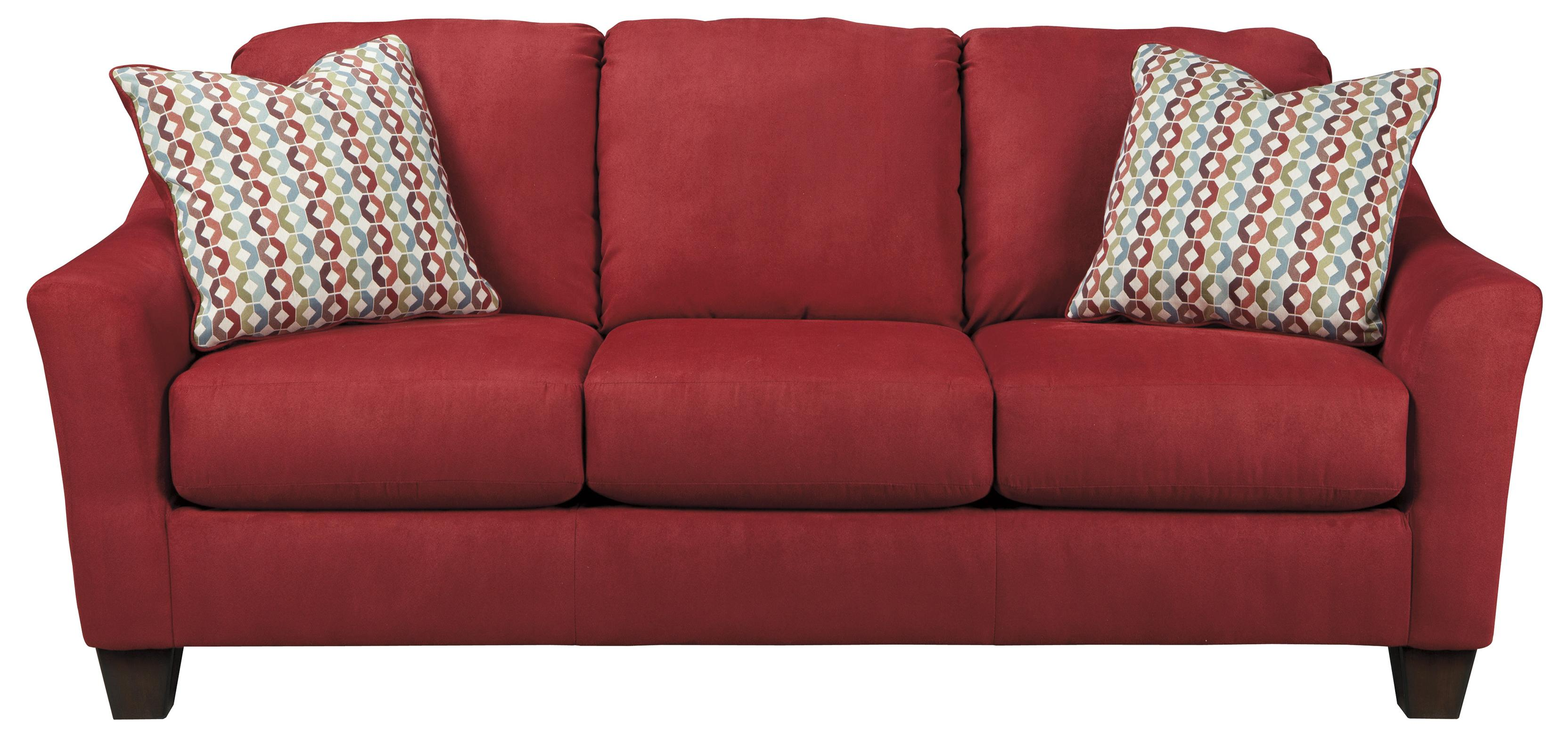 Sofa Mart Spokane Valley Wa Spice Contemporary Queen Sofa Sleeper With Flared Arms