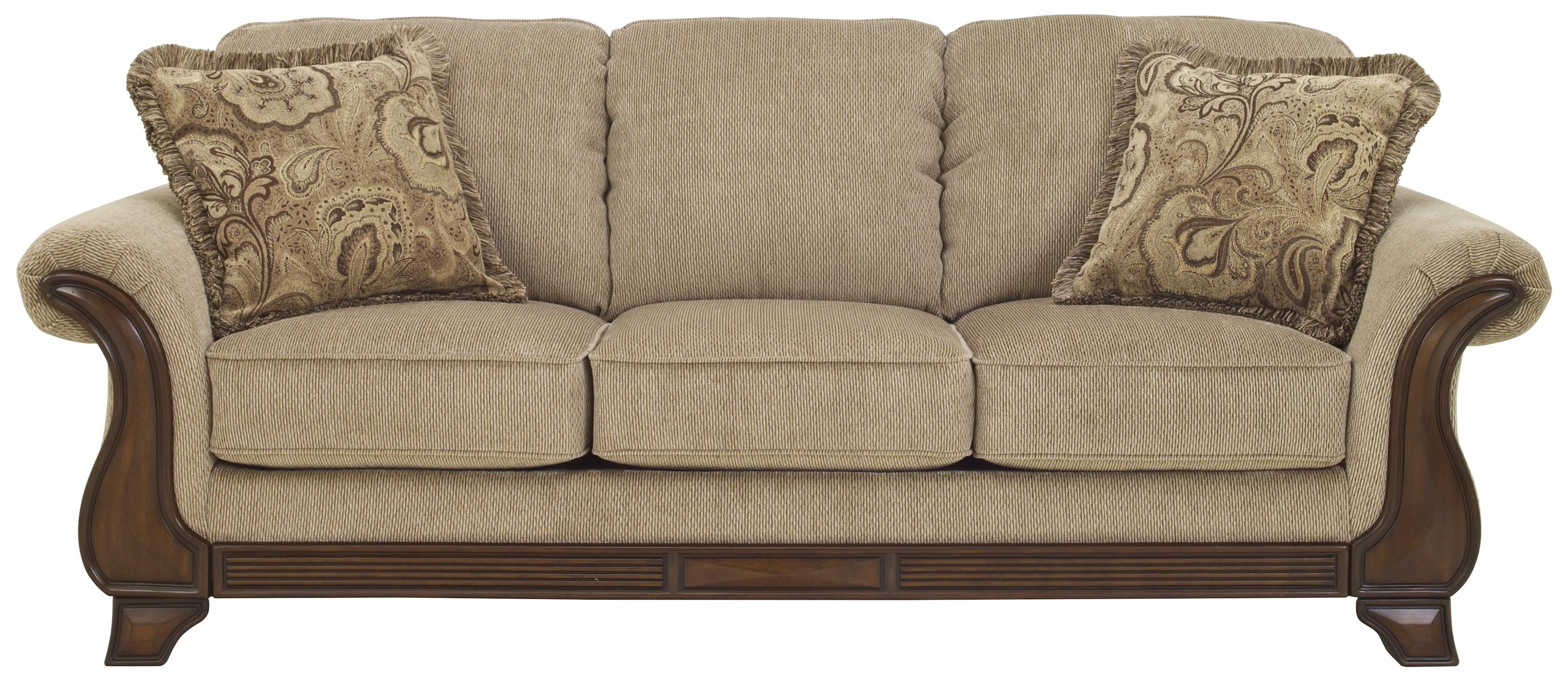 Ashley Signature Design Sofa Signature Design By Ashley Lanett Sofa With Flared Arms