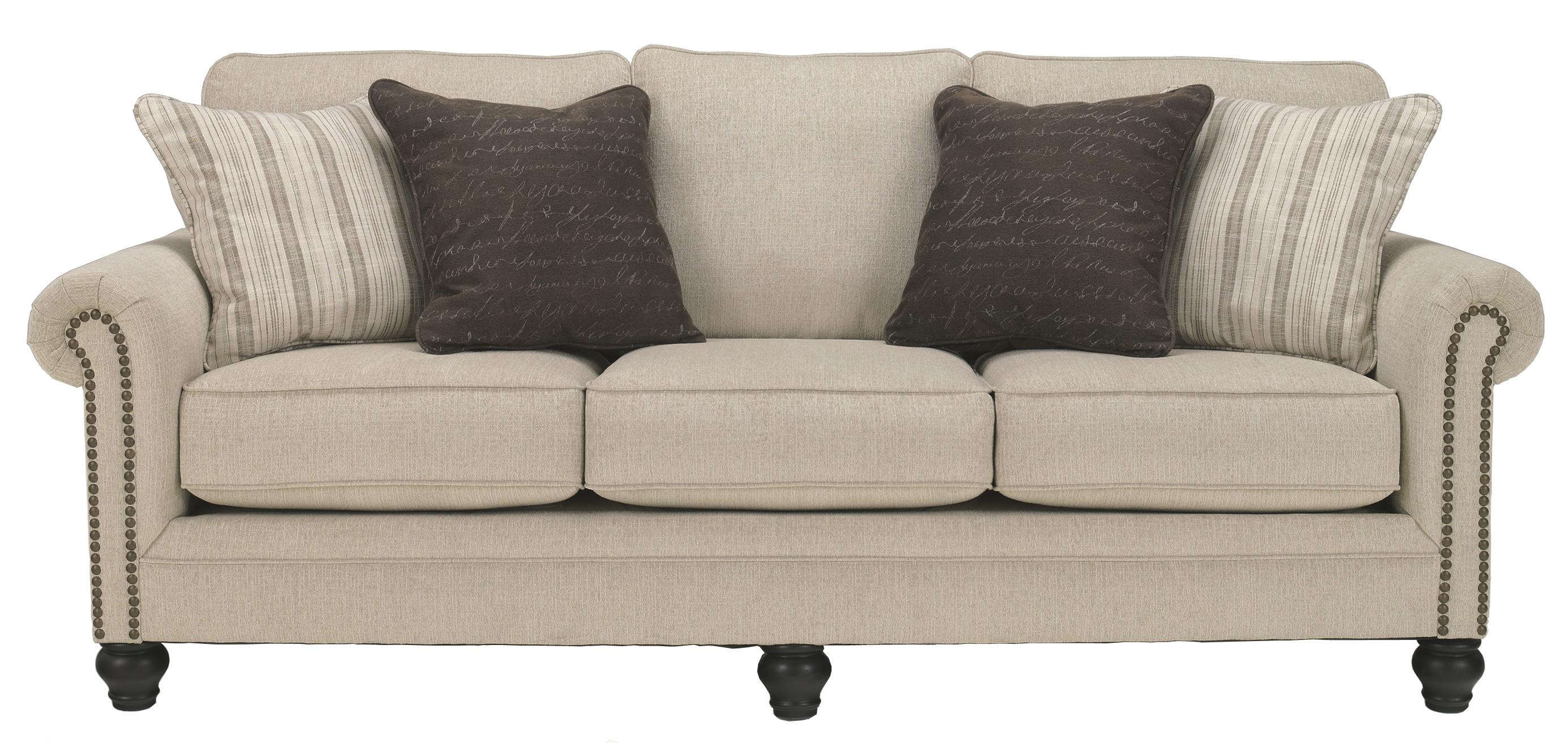 Ashley Signature Design Sofa Ashley (signature Design) Milari - Linen Transitional Sofa