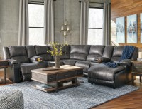 Ashley Signature Design Nantahala Faux Leather Reclining ...