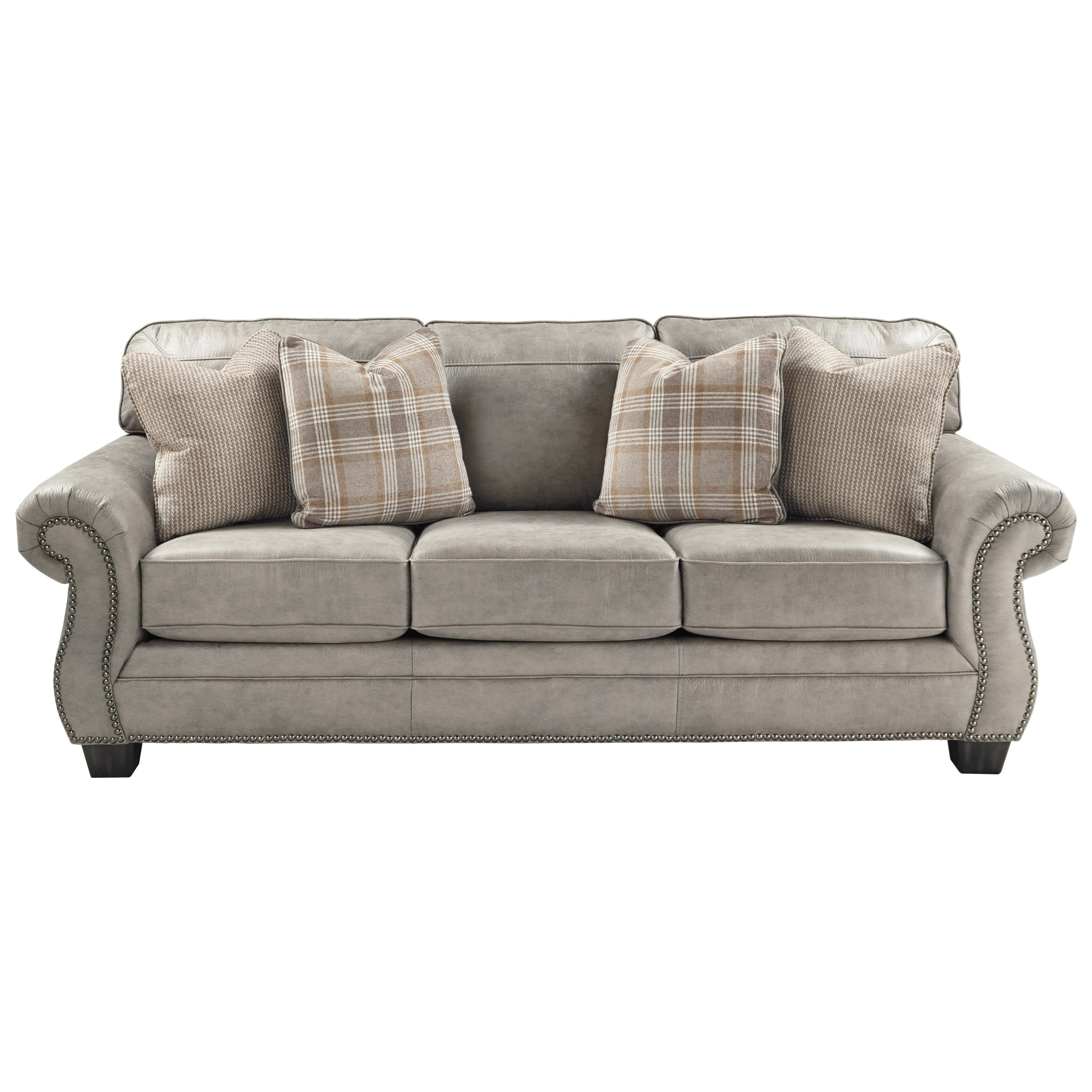 Queen Sofa Bed Ottoman Olsberg Transitional Queen Sofa Sleeper By Signature Design By Ashley At Royal Furniture