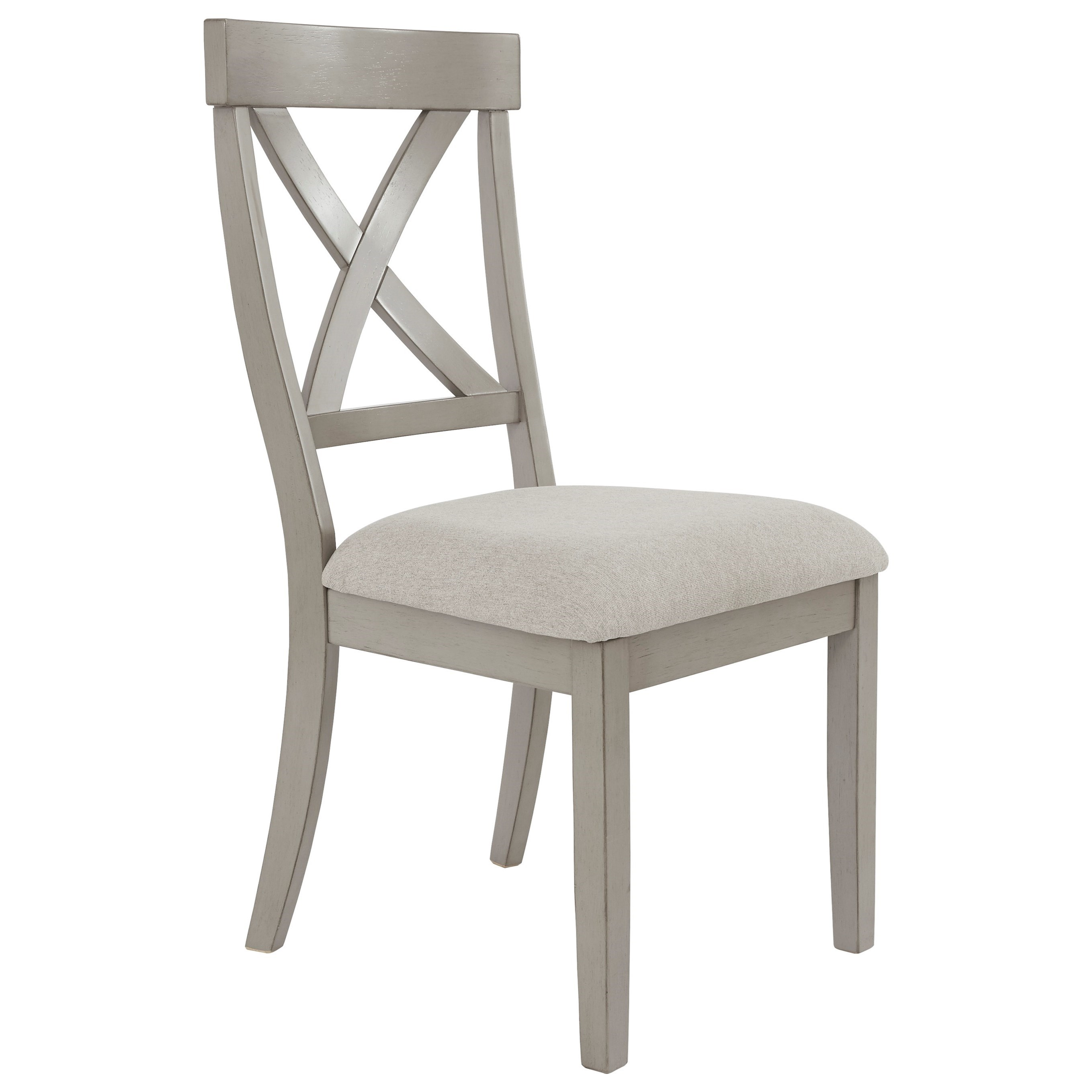 Signature Design By Ashley Parellen Casual Dining Side Chair With Upholstered Seat Value City Furniture Dining Side Chairs
