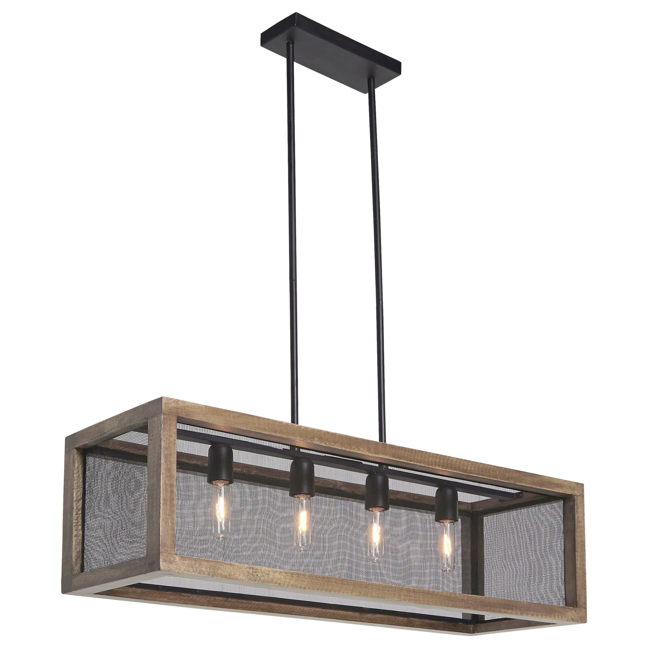 Pendant Lighting Pendant Lights Jodene Brown Black Wood Pendant Light By Ashley Signature Design At Dunk Bright Furniture