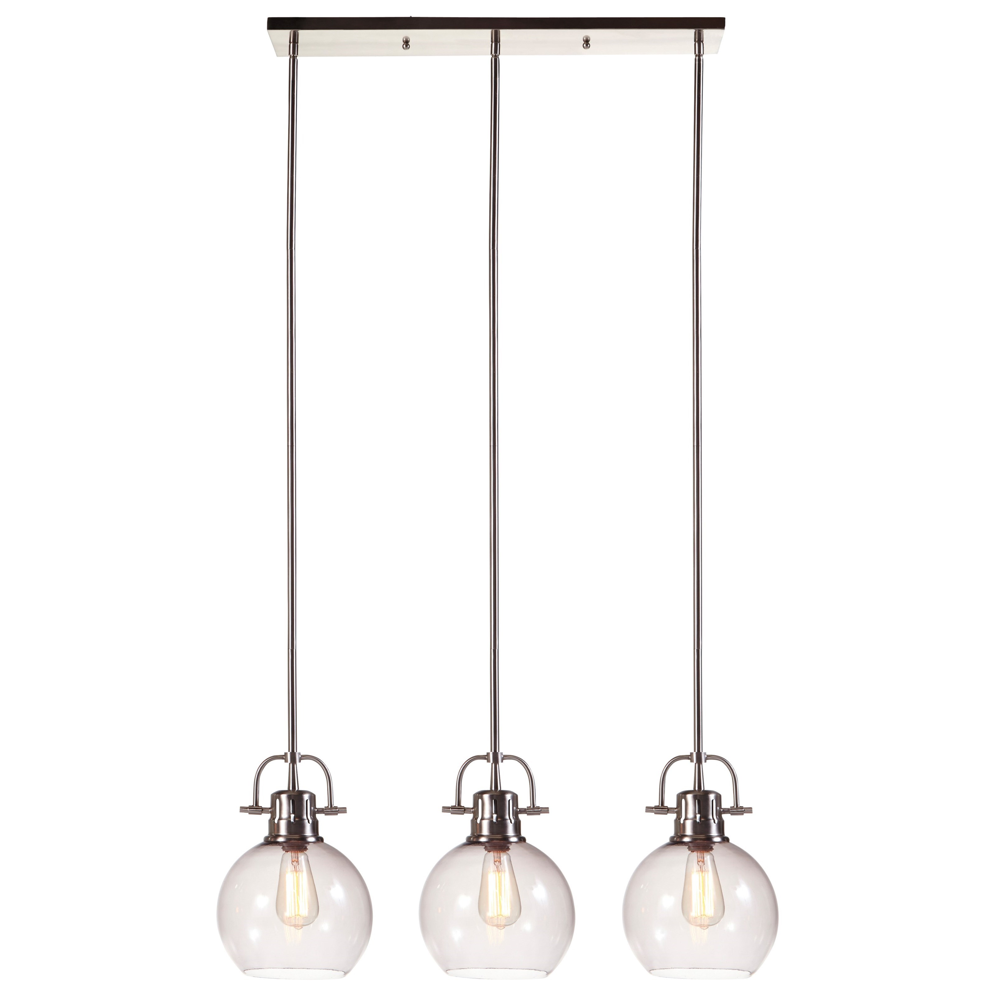 Pendant Lighting Pendant Lights Johano Gray Glass Pendant Light By Ashley Signature Design At Dunk Bright Furniture